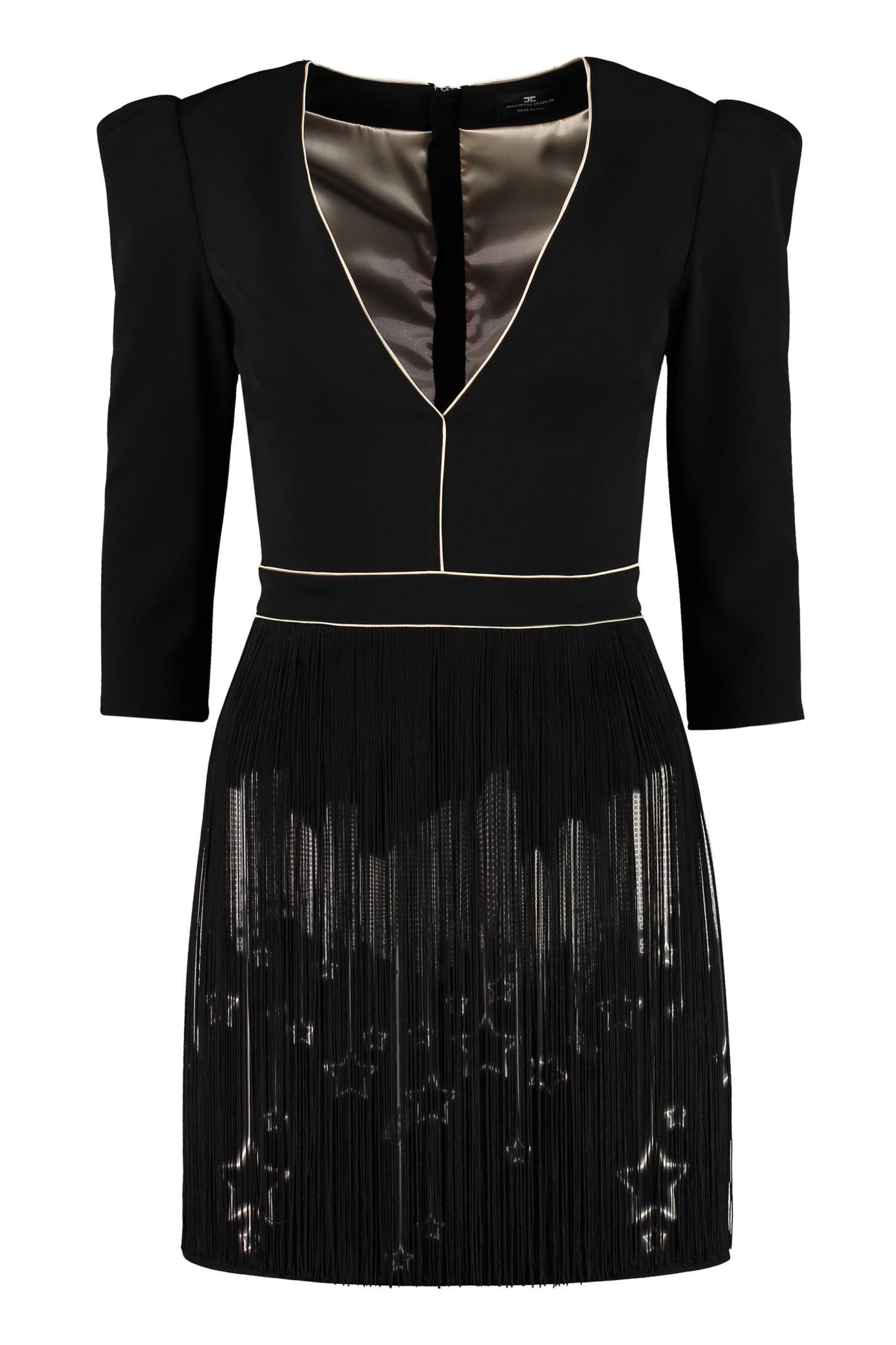 Elisabetta Franchi Celyn B. Crepe Cady Dress