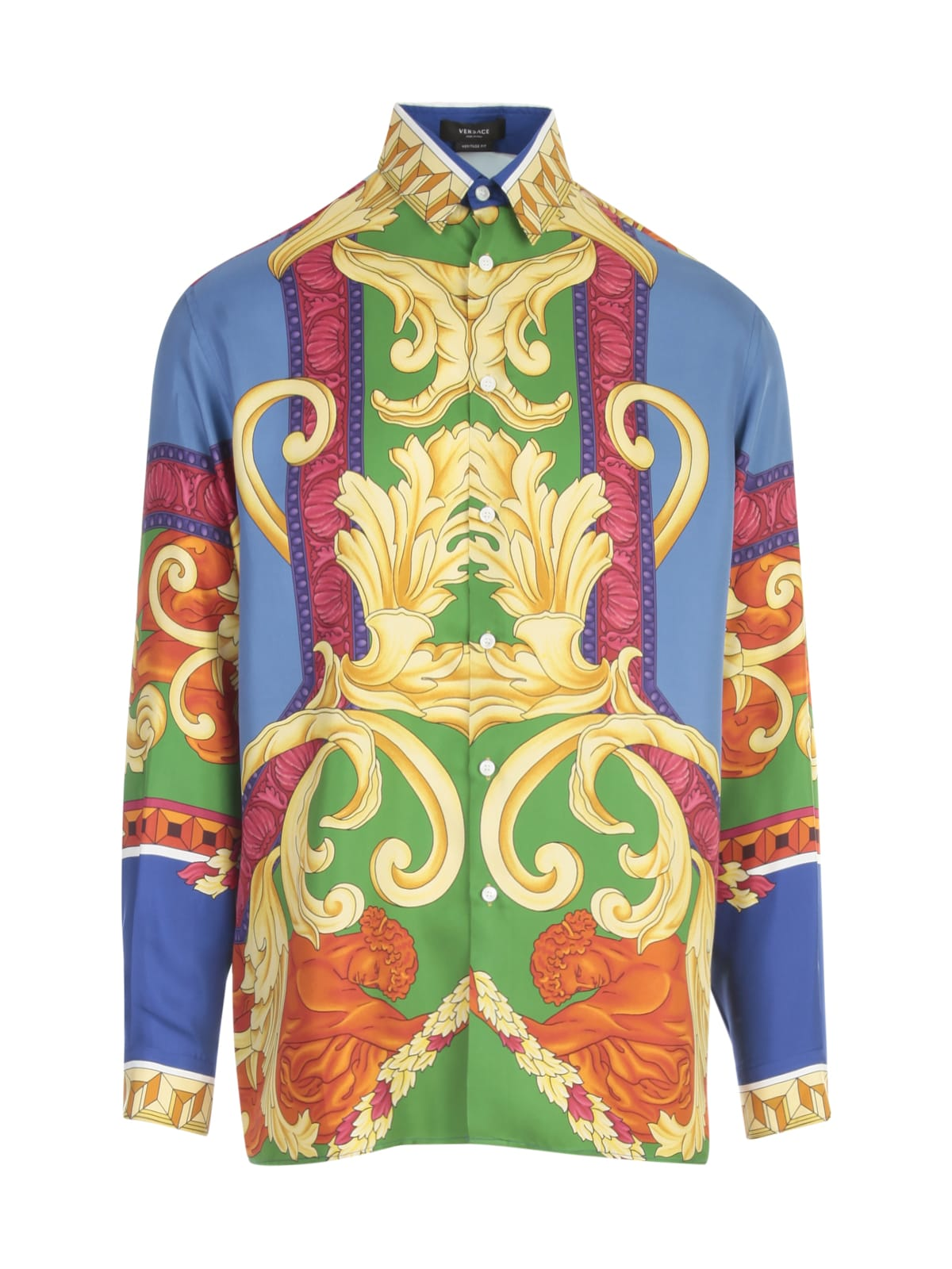 Versace Baroque Printing L/s Shirt