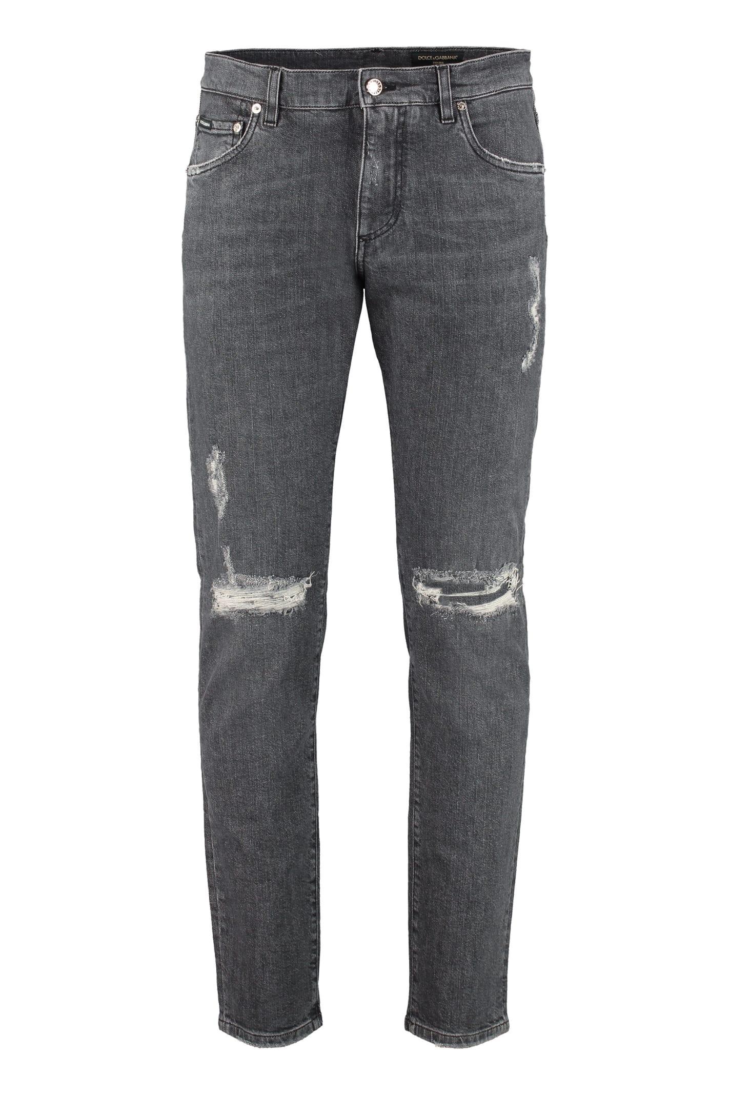 5-pocket Slim Fit Jeans