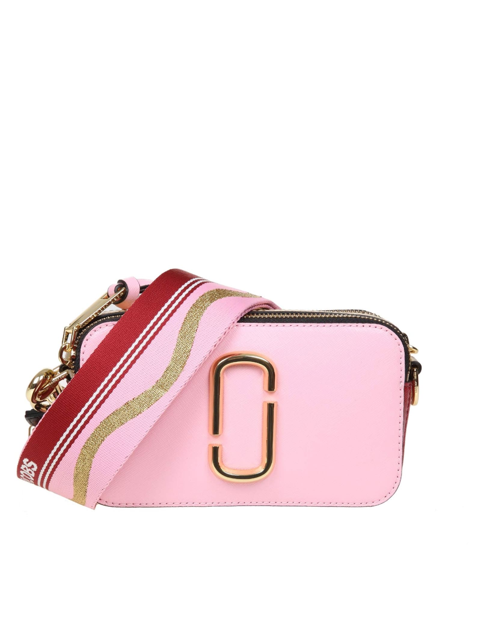 Marc Jacobs THE SNAPSHOT SUGAR CROSSBODY BAG IN SAFFIANO LEATHER