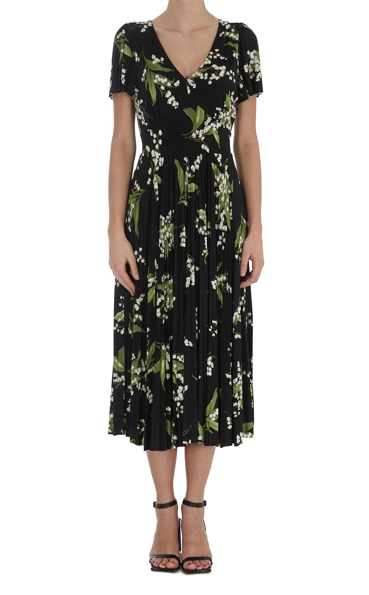 May Lily Printed Dress Valentino