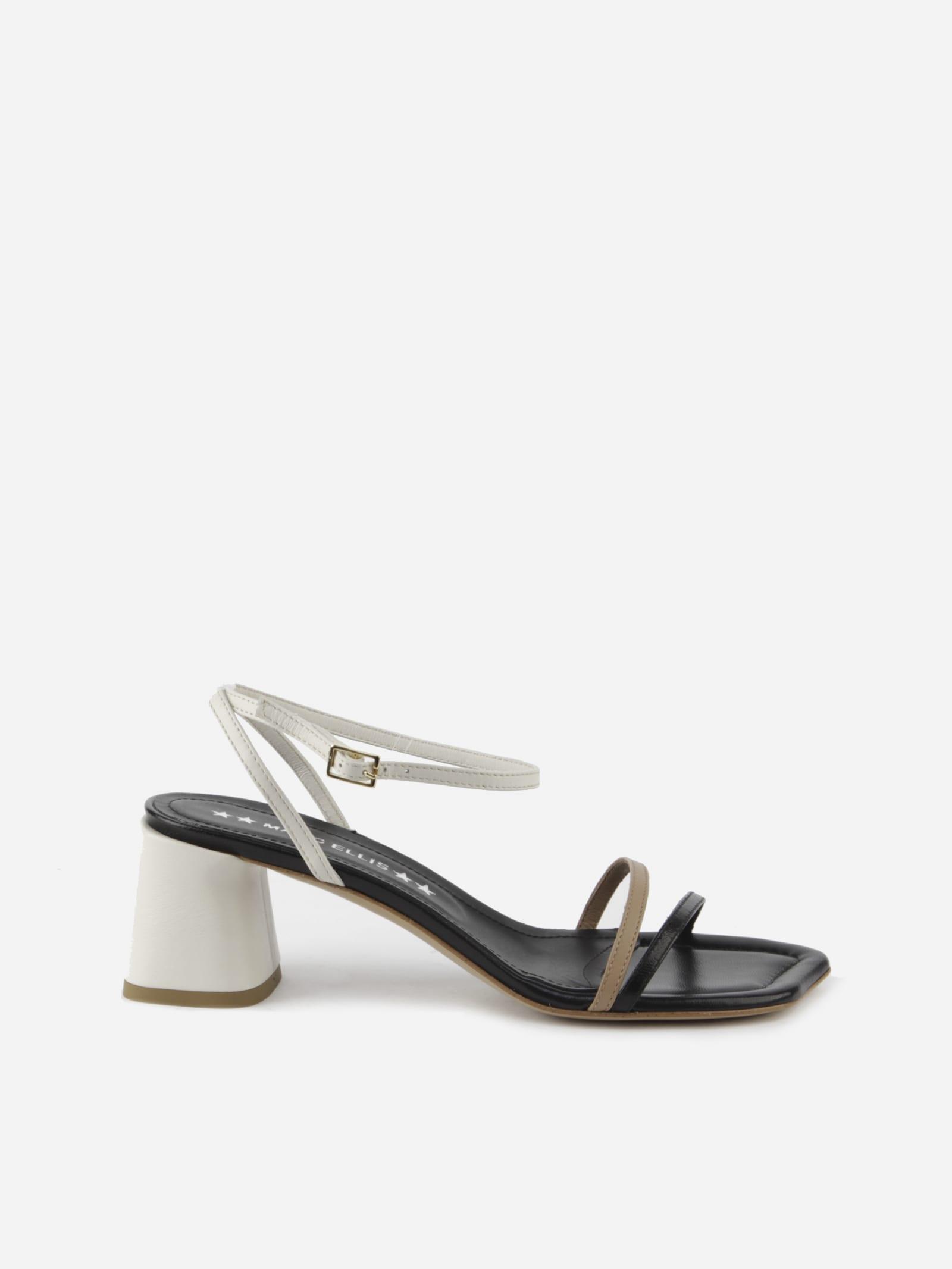 Gena Leather Sandals