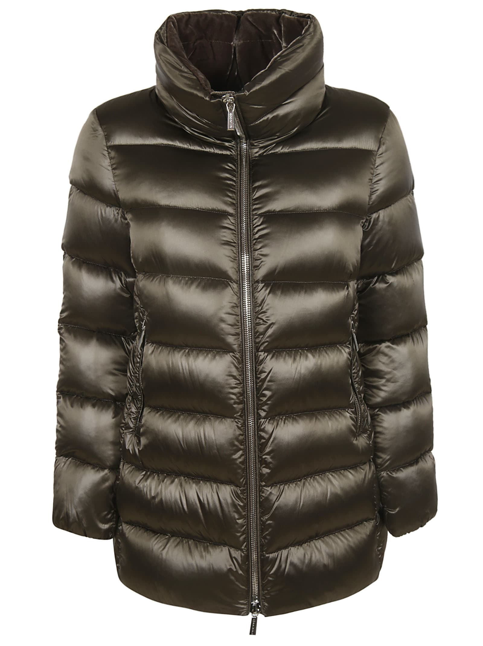 Moorer Dorado-rgv Shiny Padded Jacket