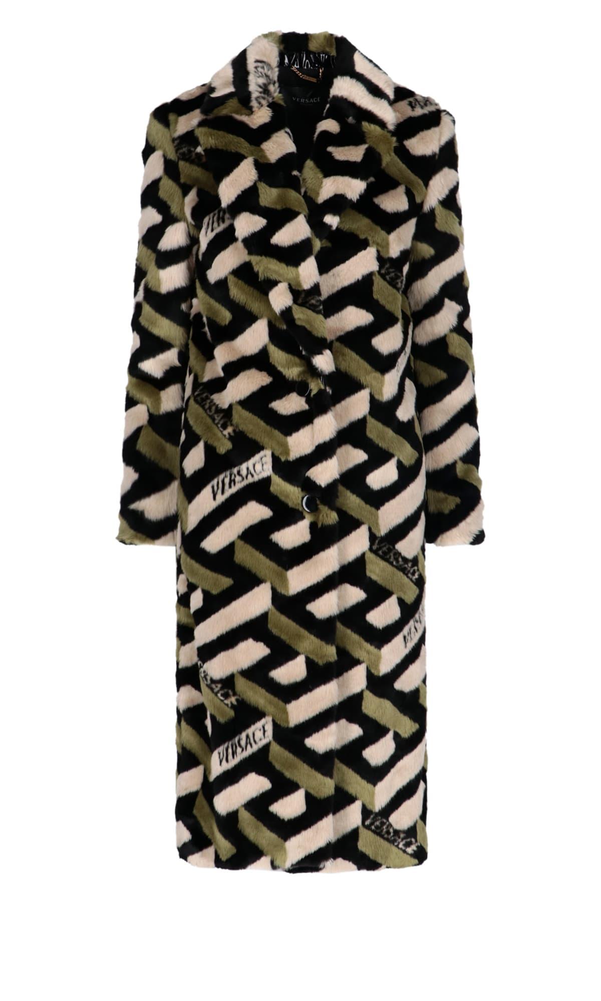 Versace Jacket In Black