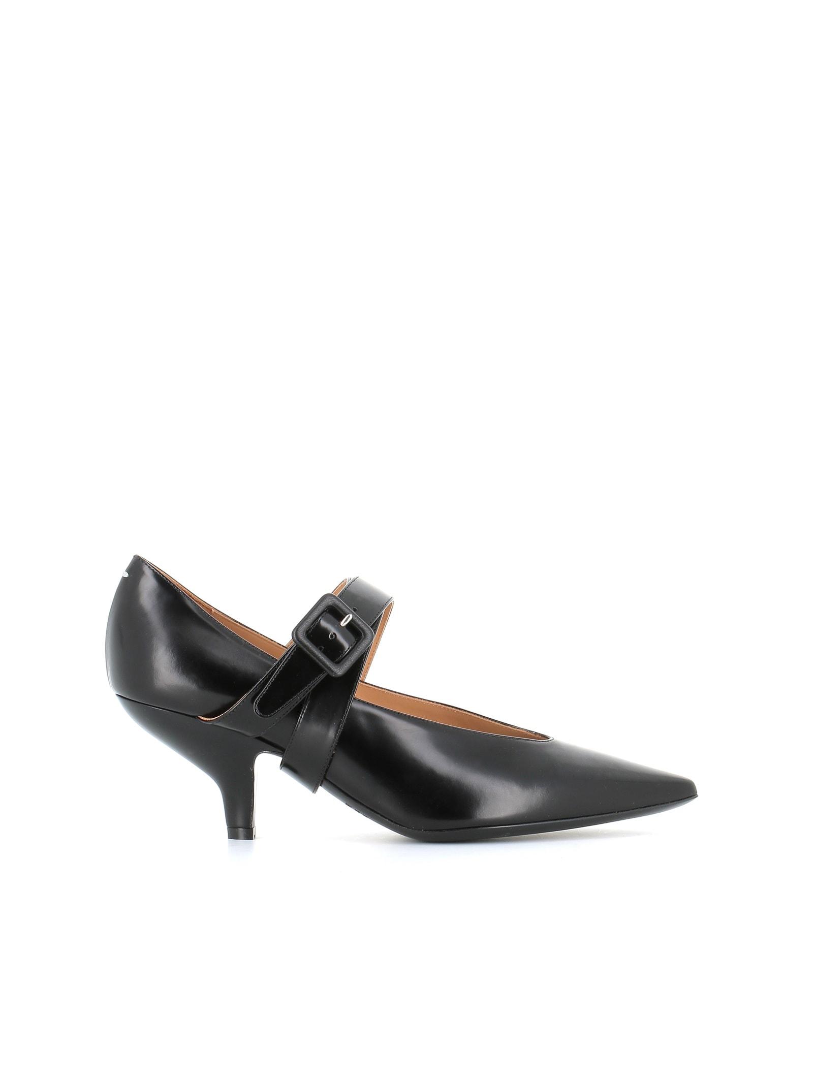 Buy Maison Margiela D?ollet?Mary Jane Nina Tango online, shop Maison Margiela shoes with free shipping