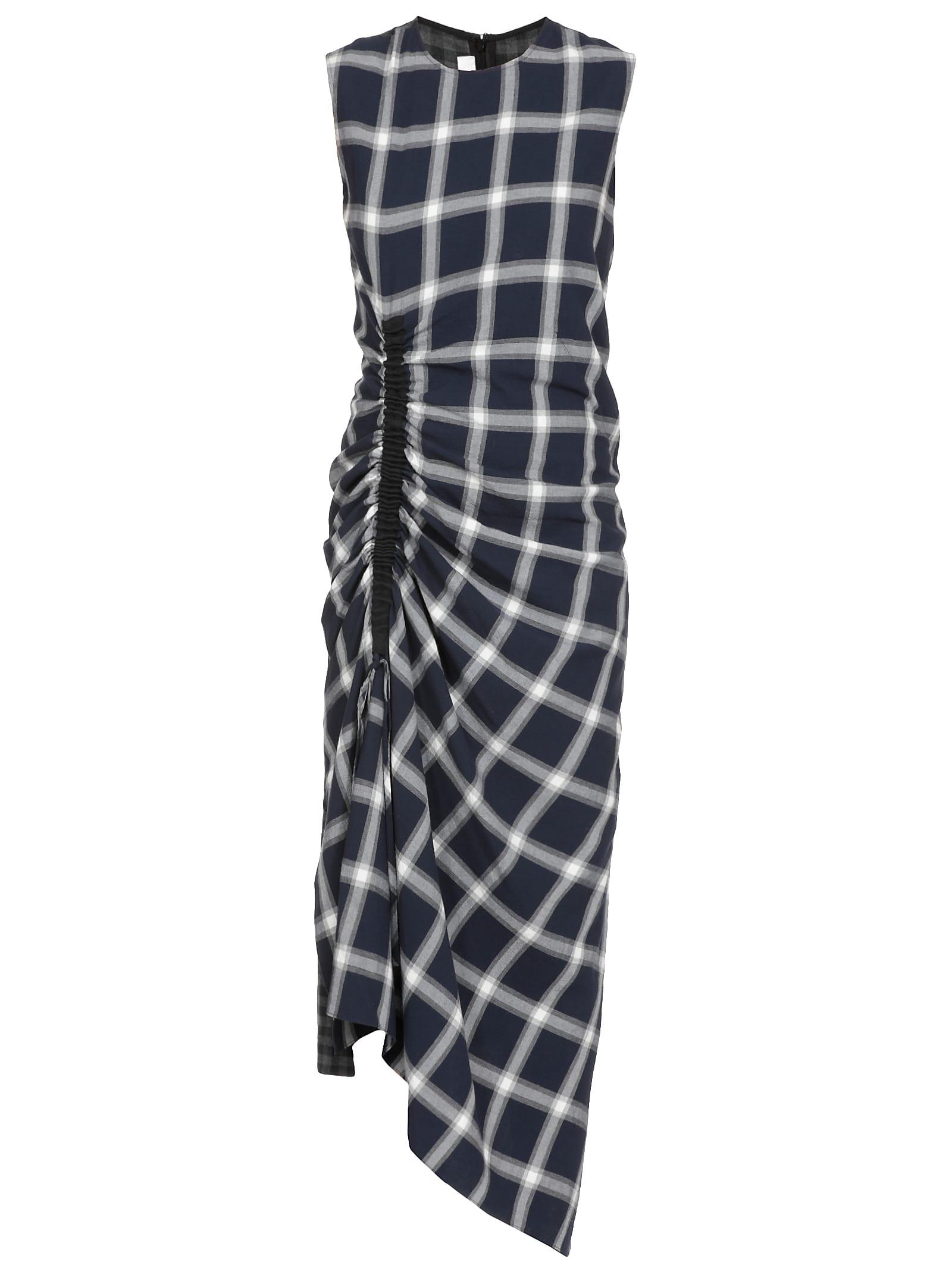 McQ Alexander McQueen Checked Dress
