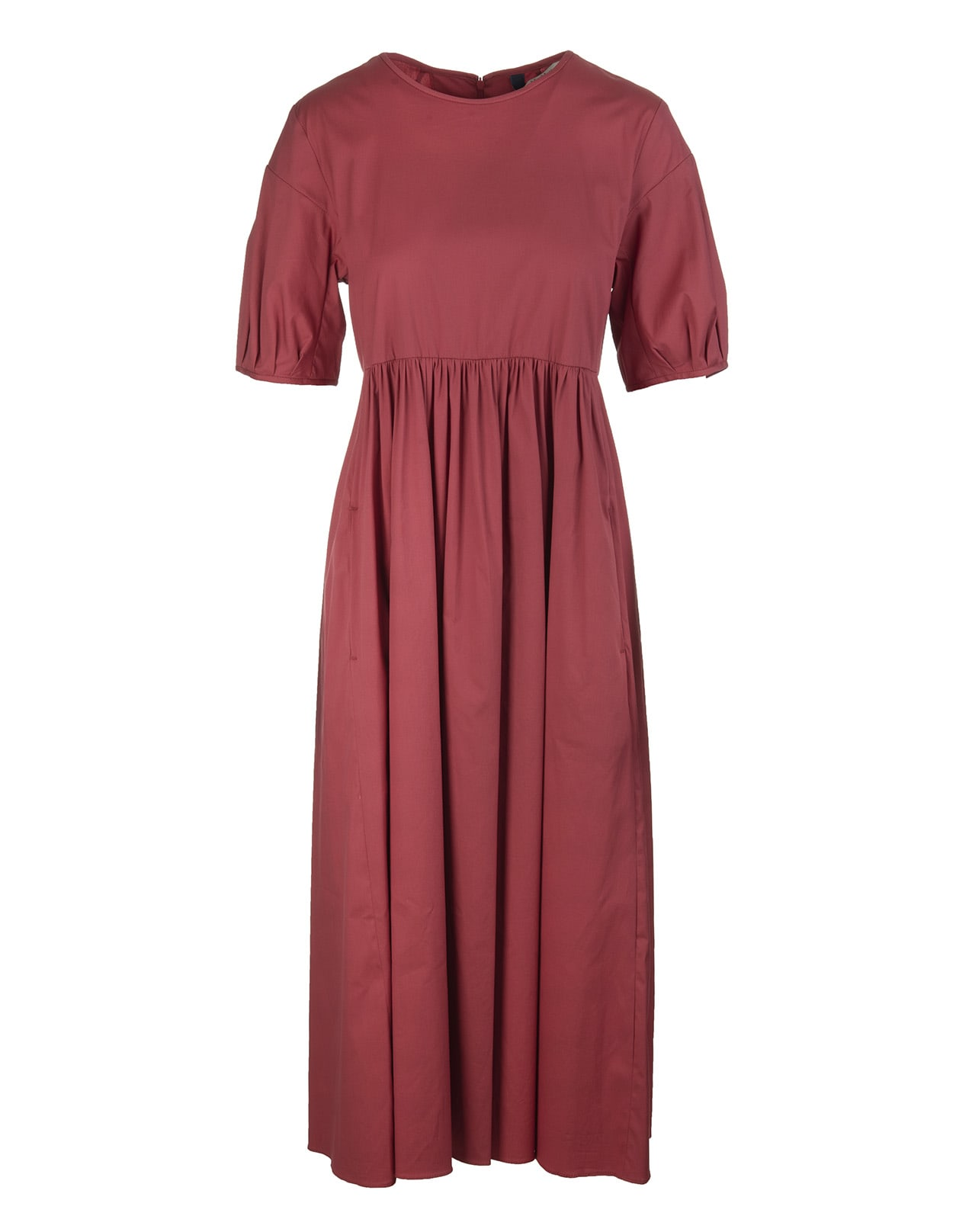 Buy Red Fato Long Dress online, shop Max Mara with free shipping