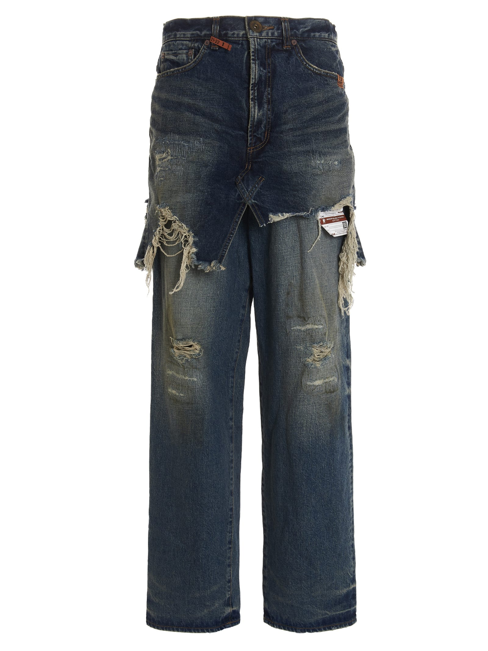 layered Jeans