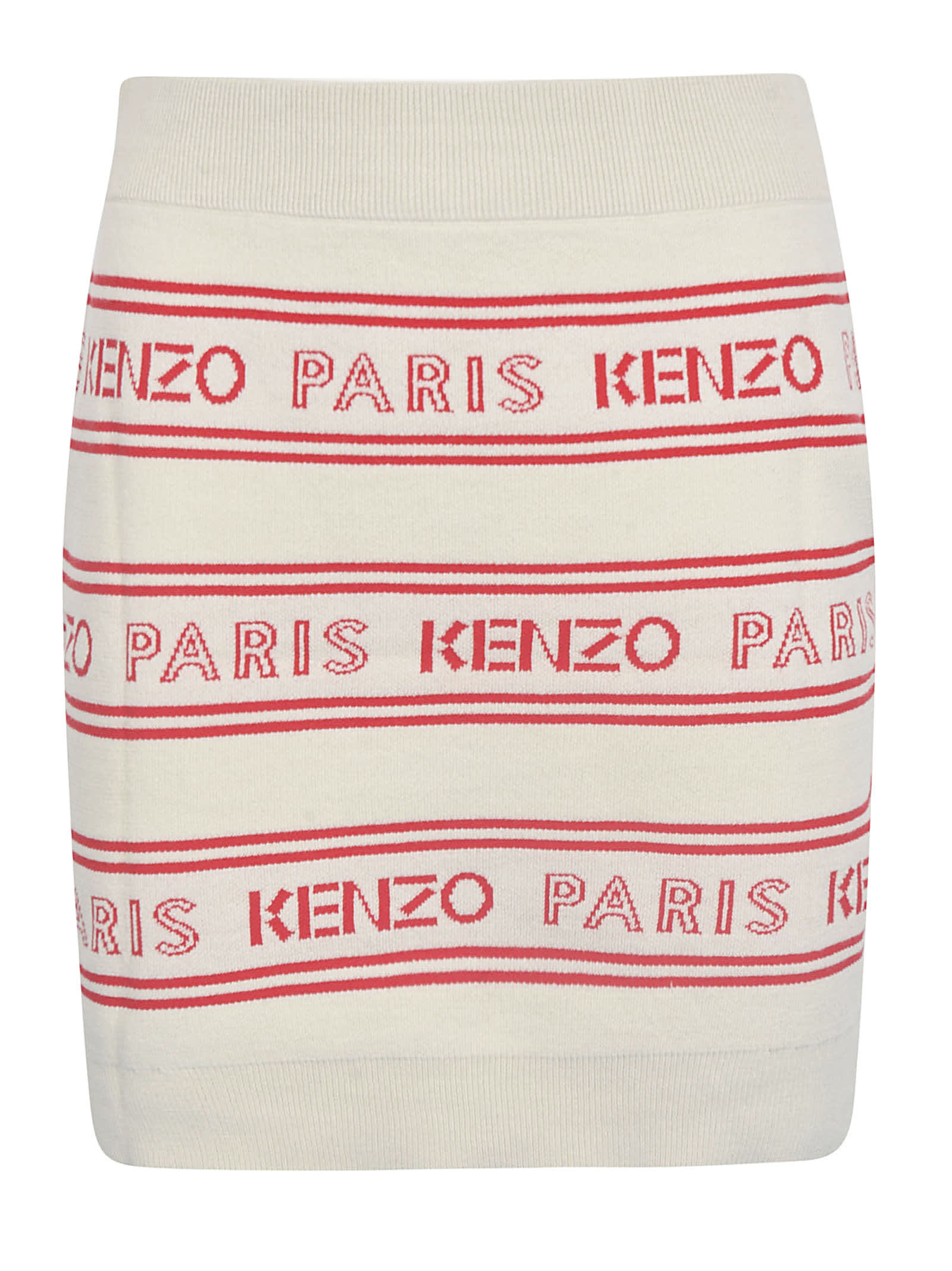 Buy Kenzo Logo Stripe All-over Dress online, shop Kenzo with free shipping