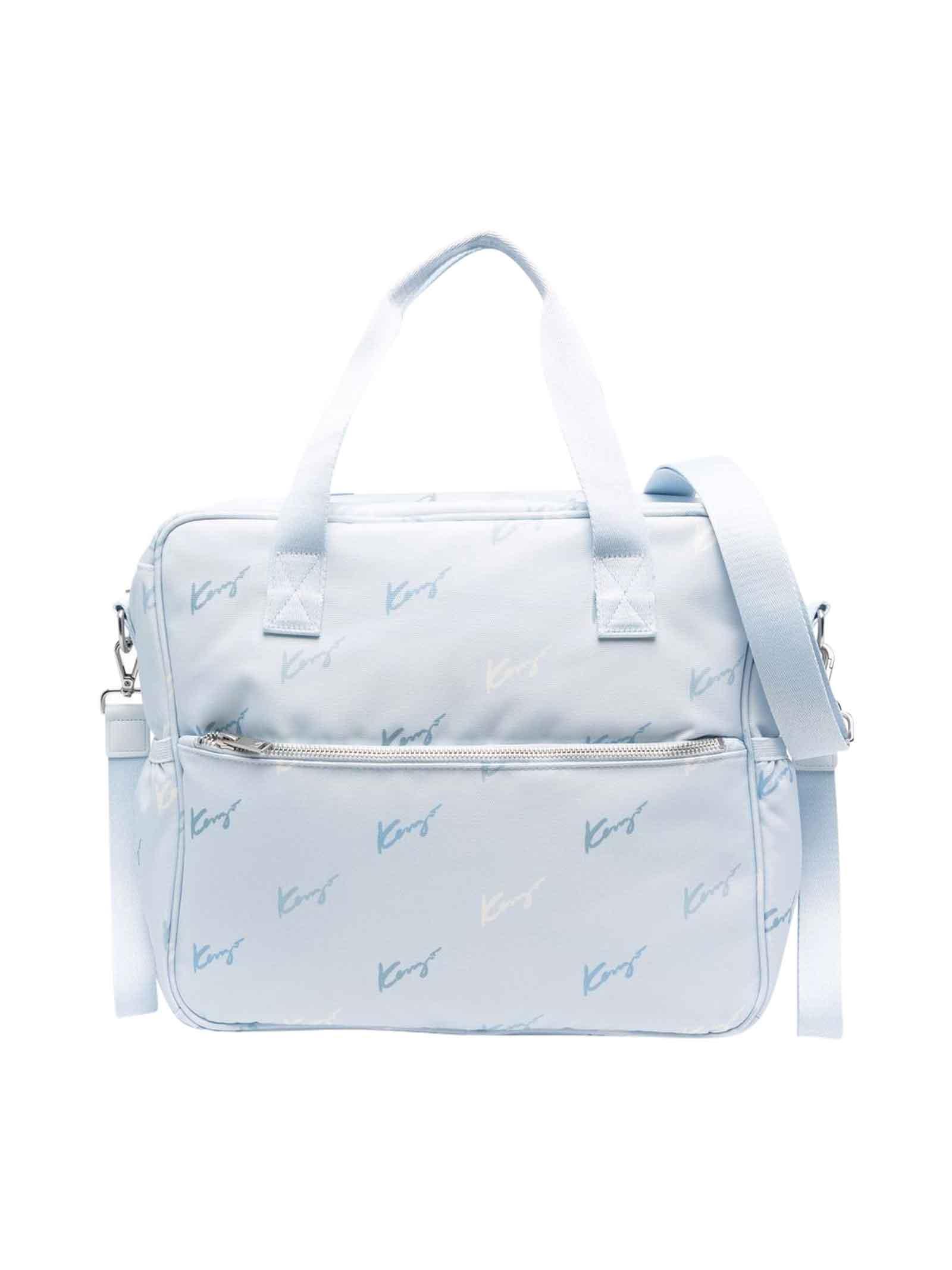 Blue Changing Bag