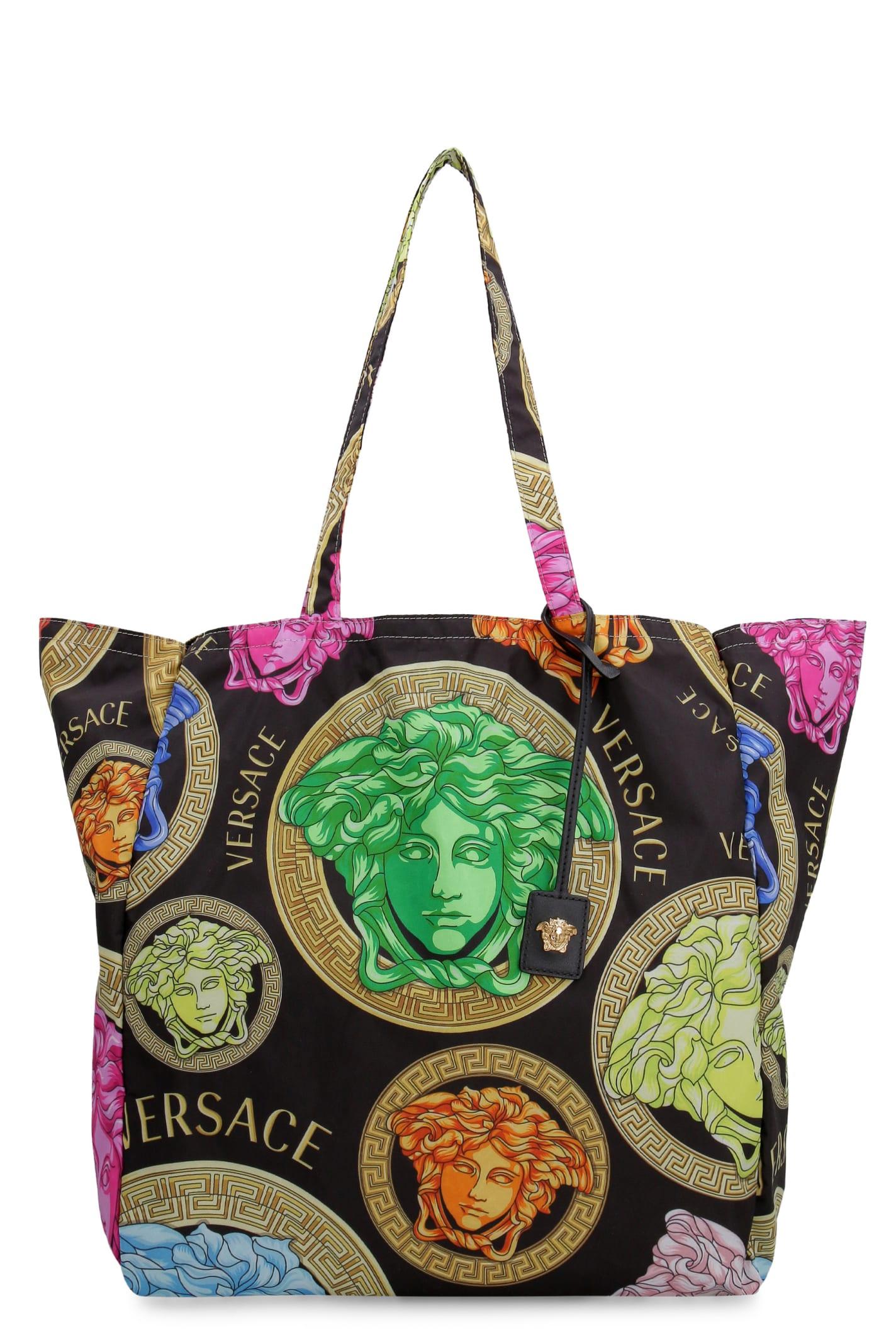 Versace Totes PRINTED TOTE BAG