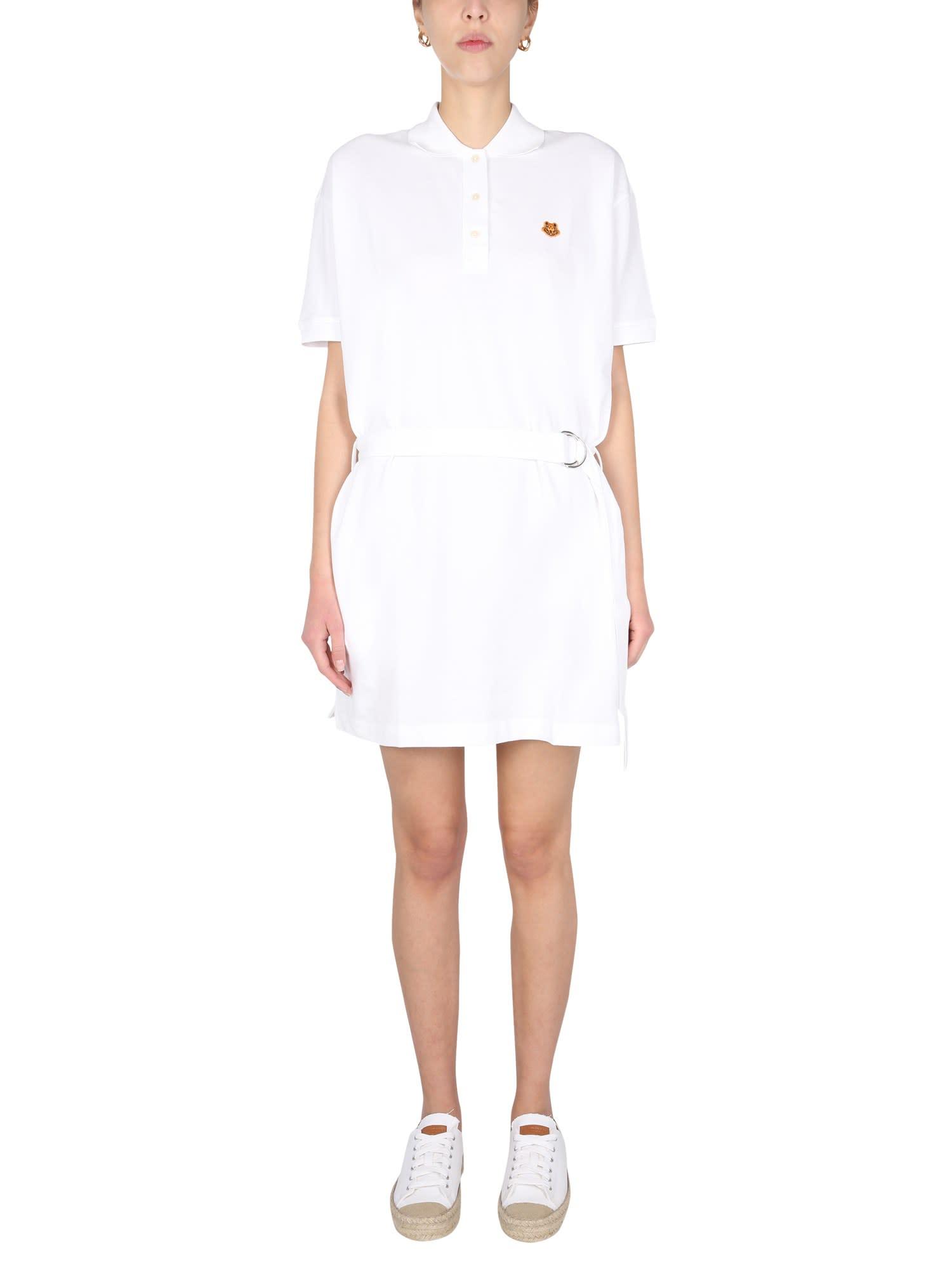 Buy Kenzo Polo Dress online, shop Kenzo with free shipping