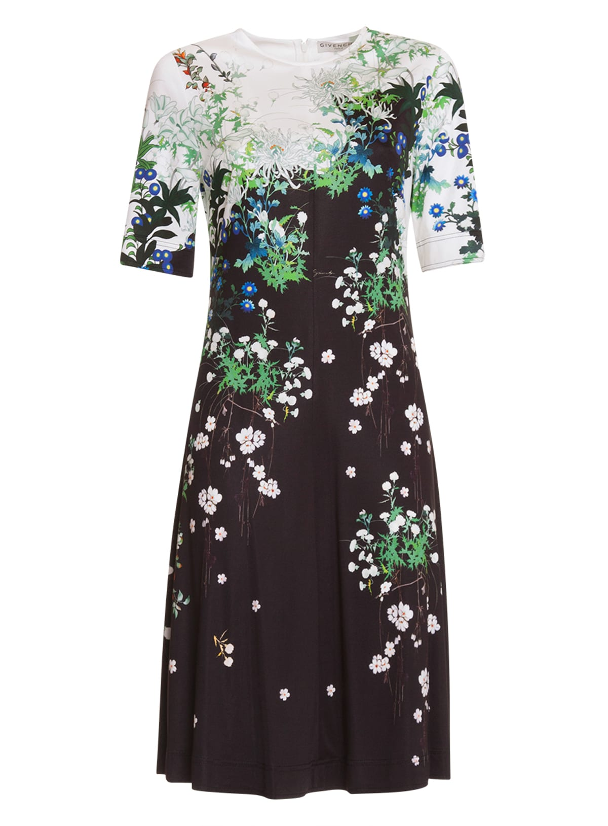 Buy Givenchy Midi Fantasy Print Dress online, shop Givenchy with free shipping