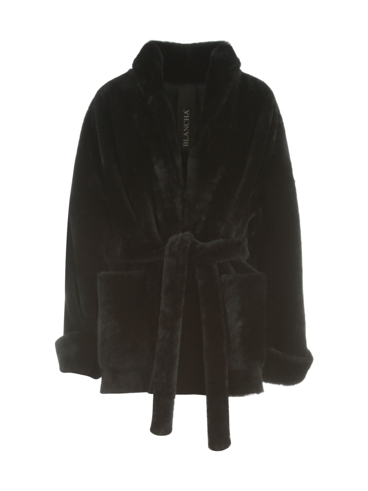 Merino Light Kimono Coat W/belt