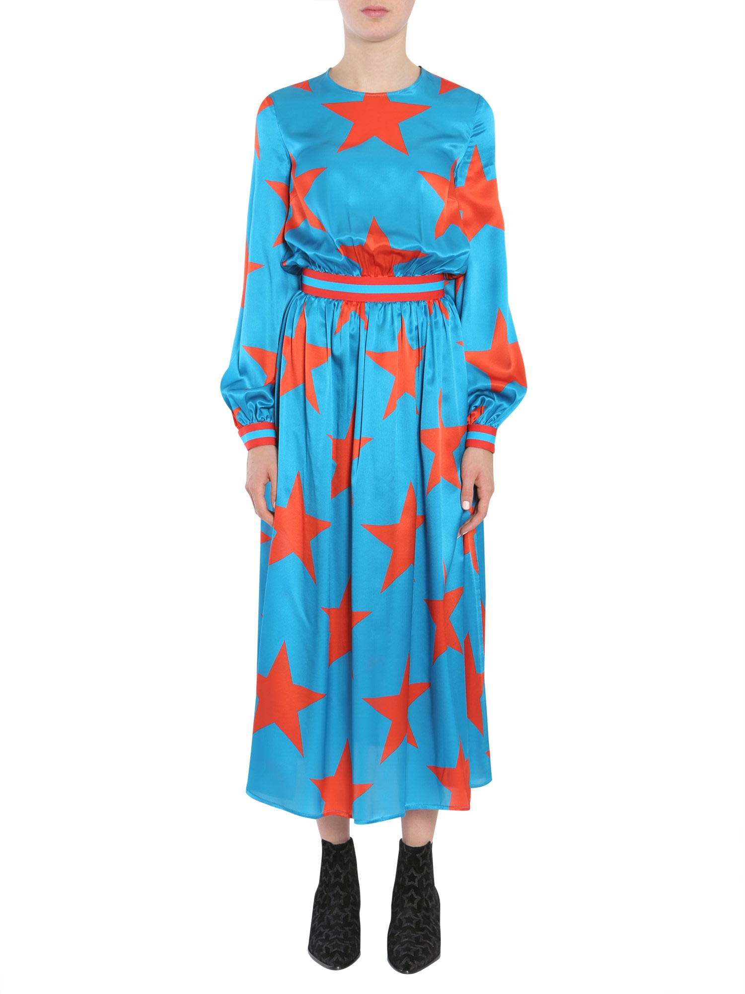 Buy MSGM Silk Dress online, shop MSGM with free shipping