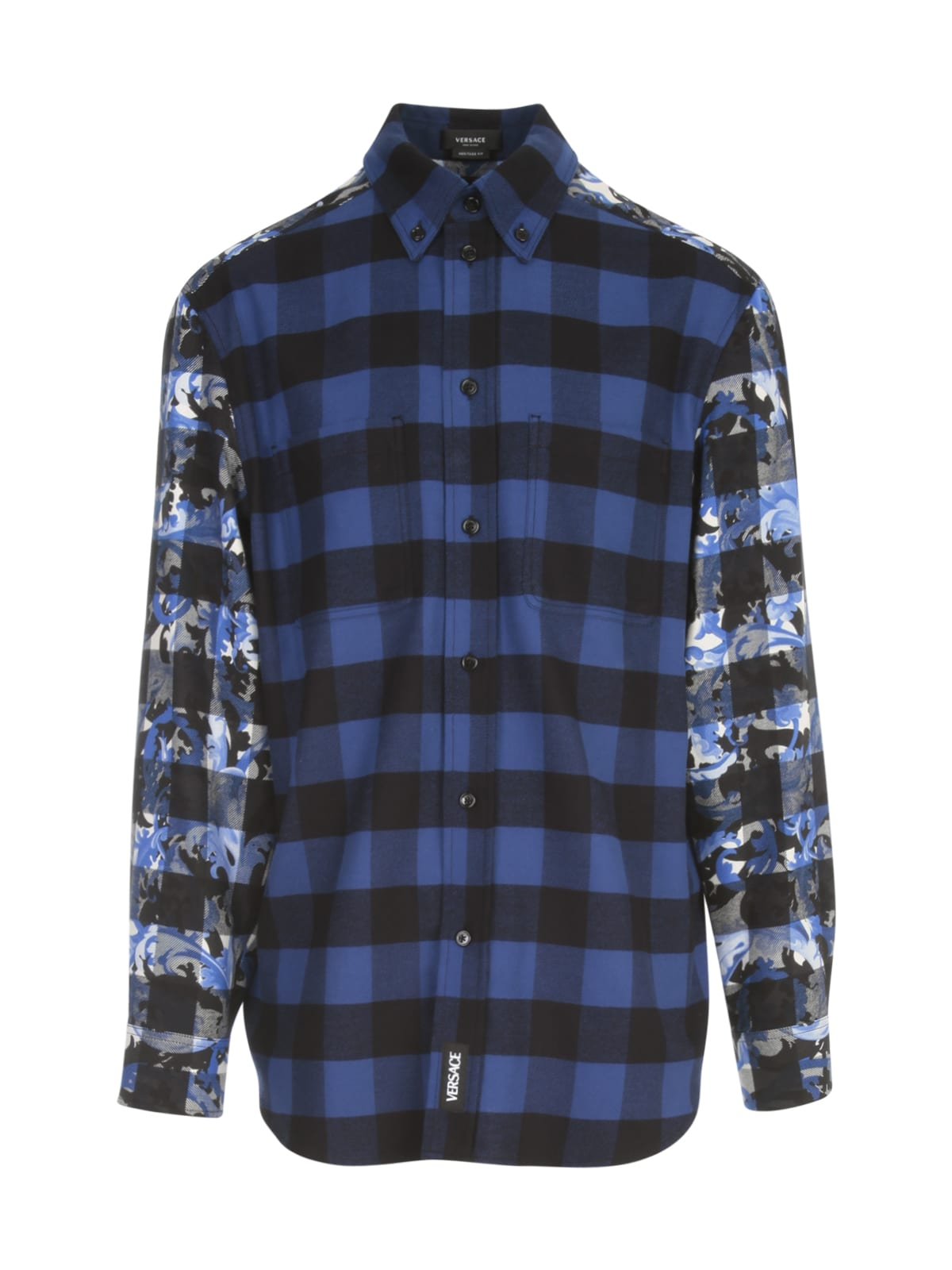 Versace Checked L/s Shirt