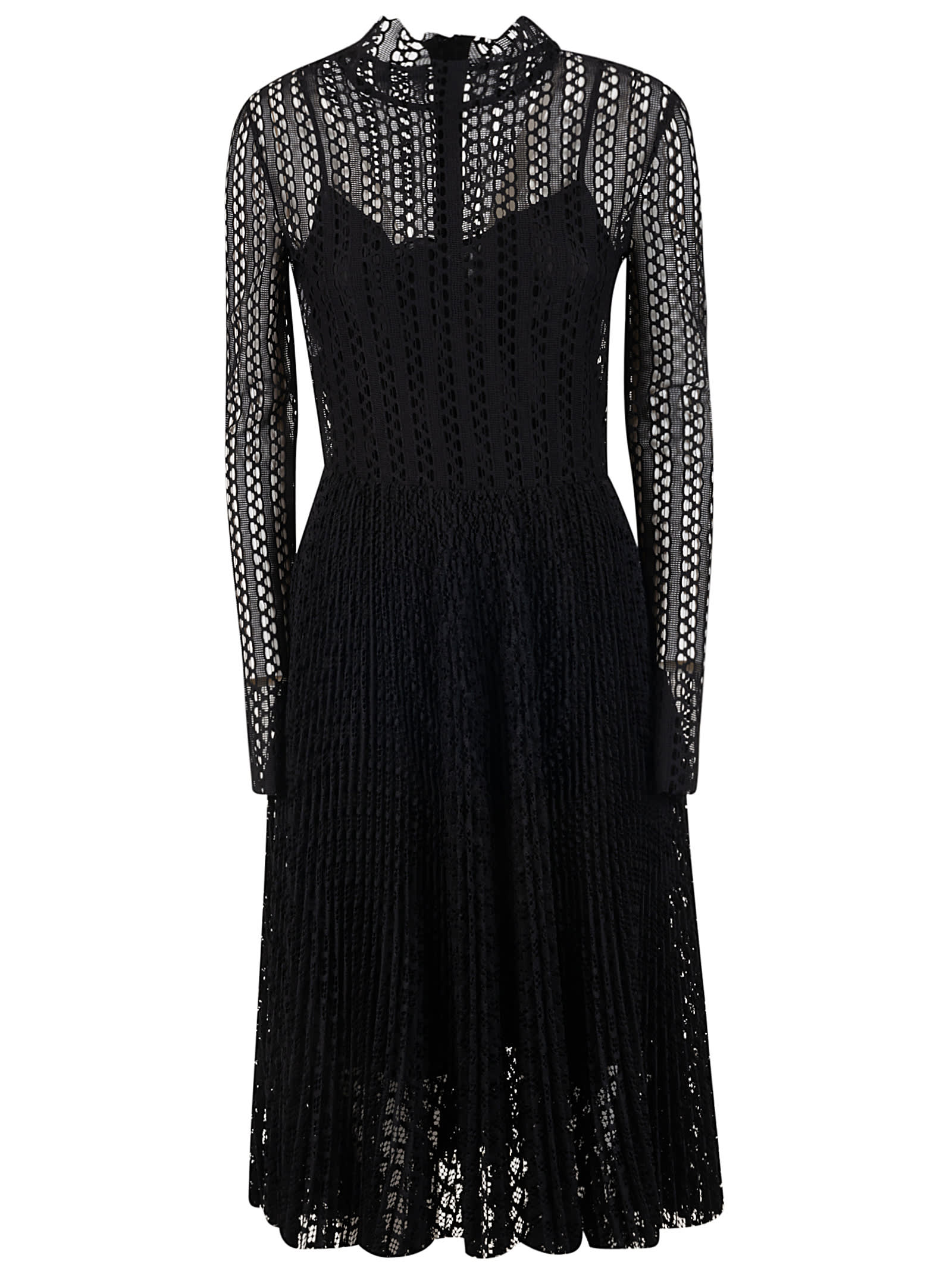 Philosophy di Lorenzo Serafini Perforated Dress