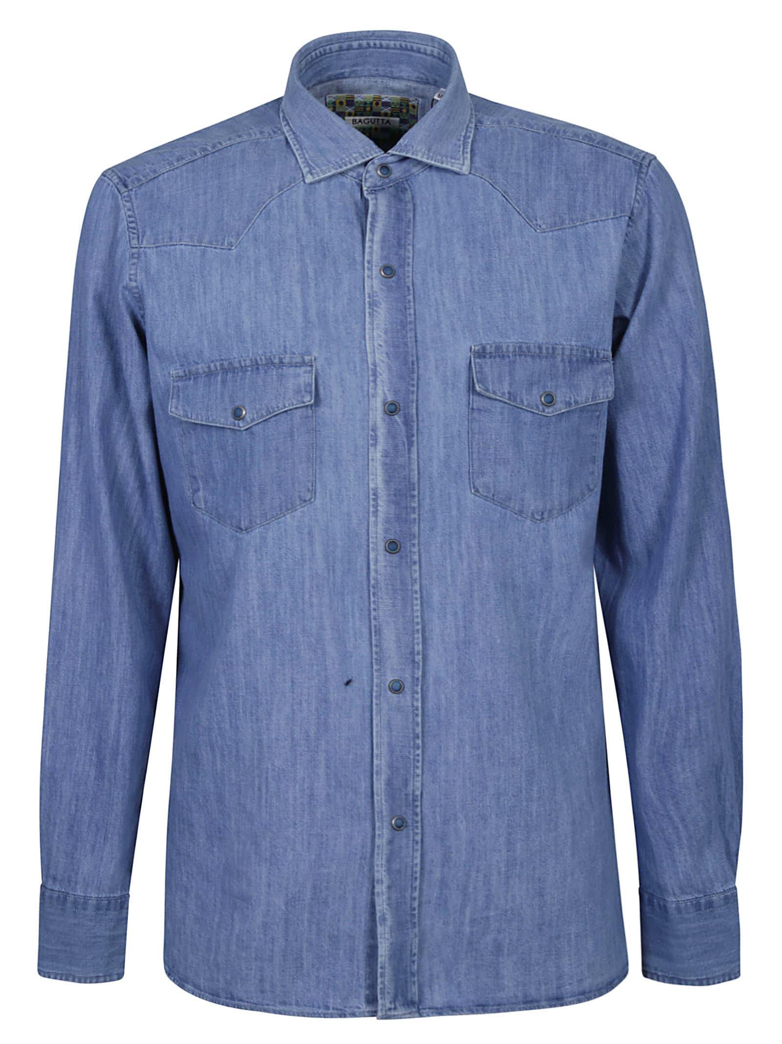 Denim Buttoned Shirt