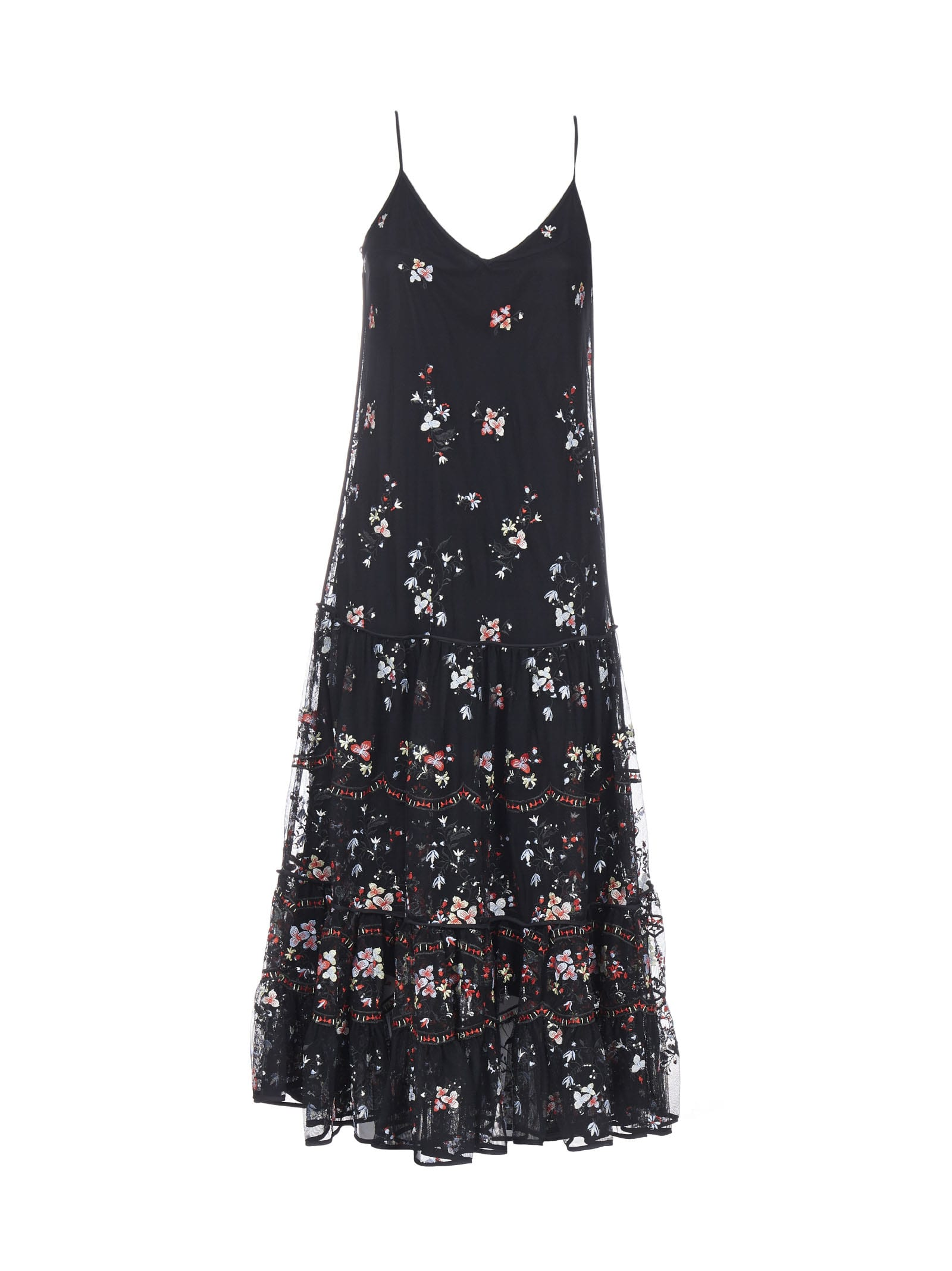 Buy Tory Burch Embroidery Dress online, shop Tory Burch with free shipping