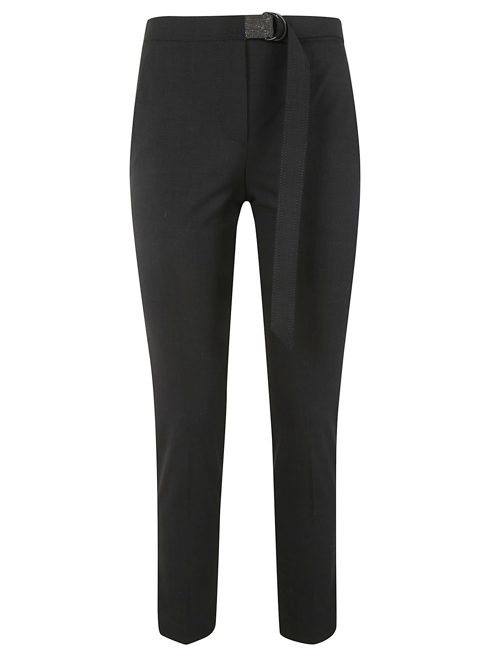 Brunello Cucinelli Attached Belt Trousers