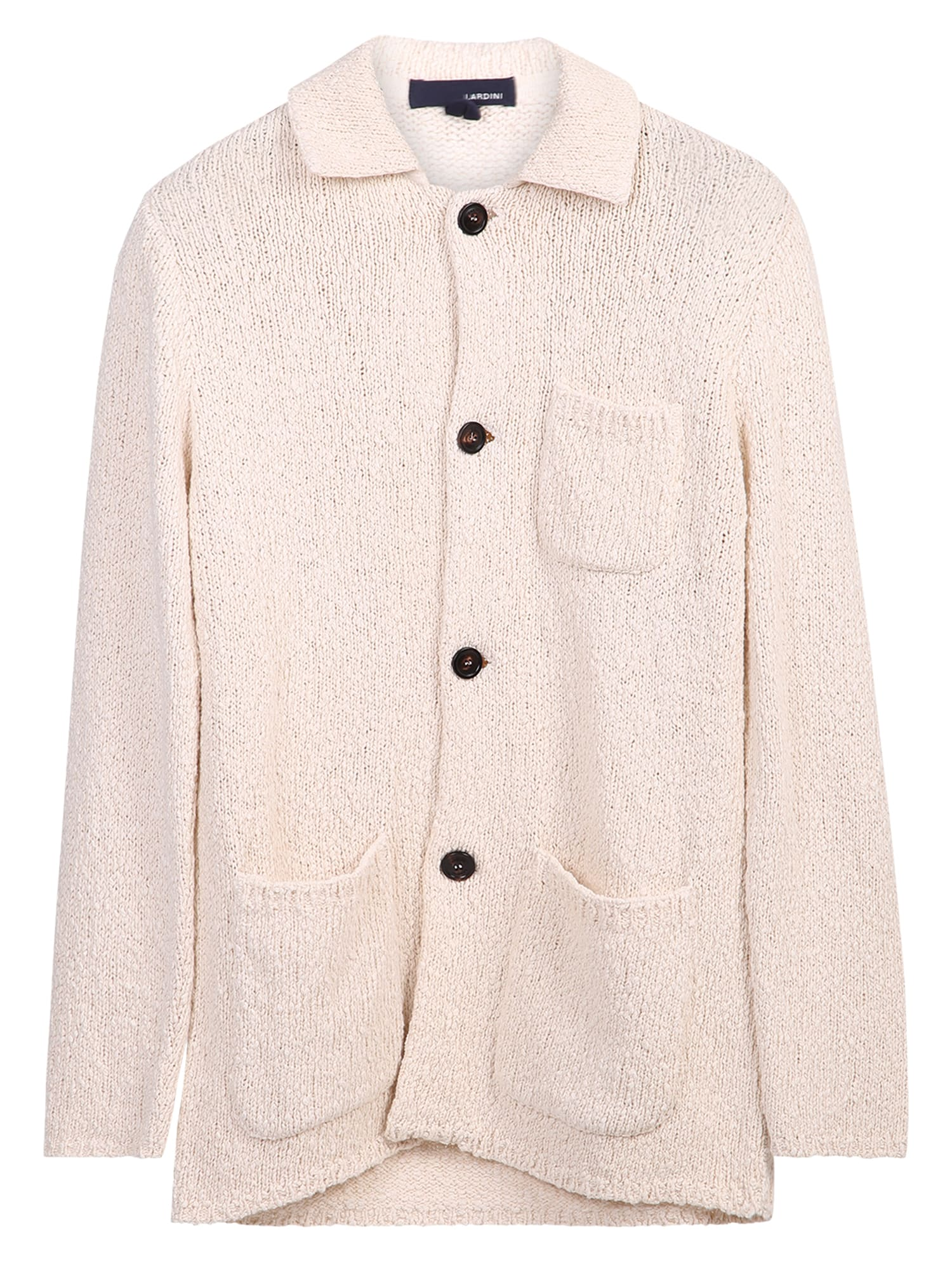 Lardini Cottons RELAXED FIT CARDIGAN