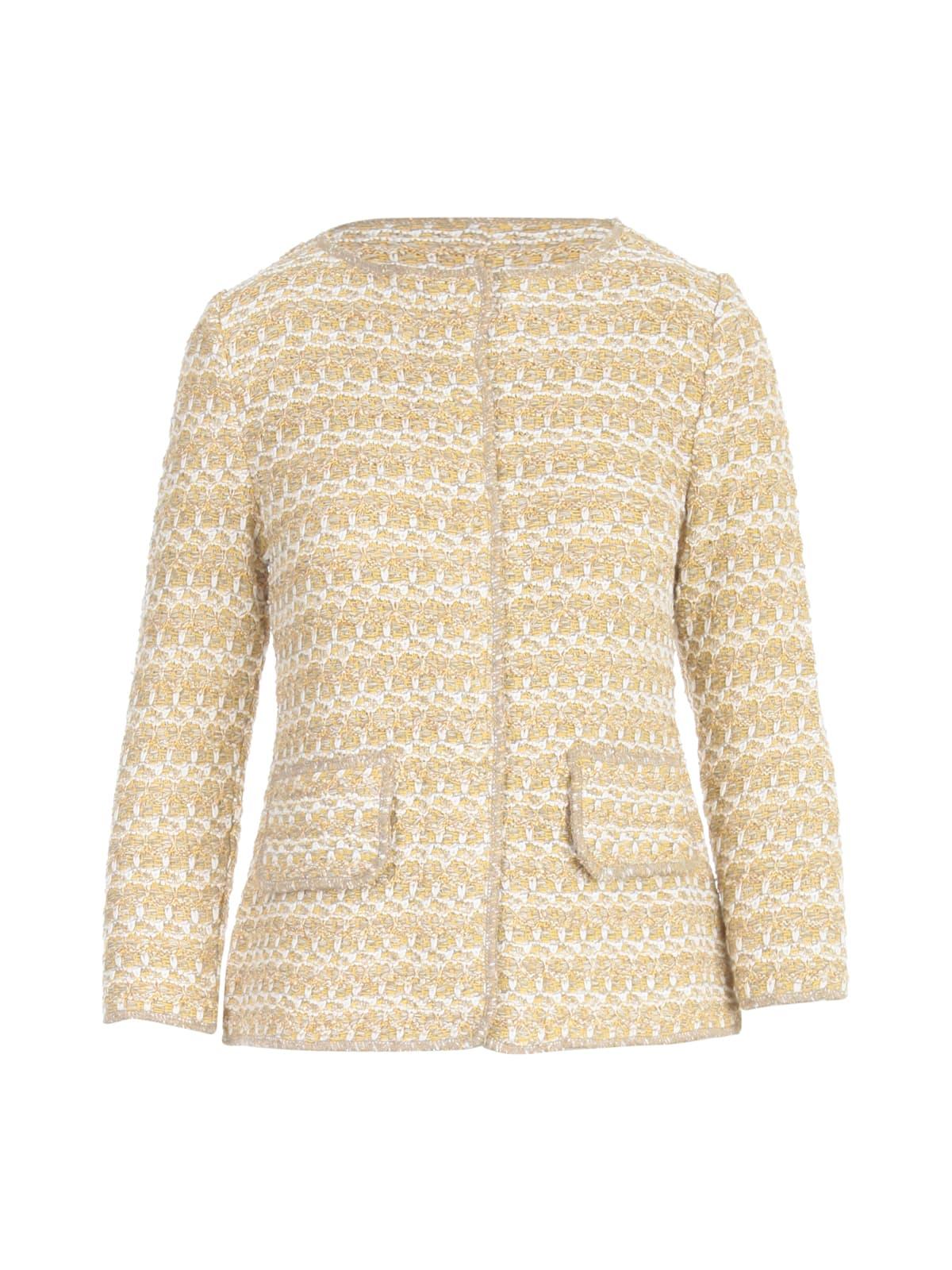 Lurex L/s Chanel Jacket