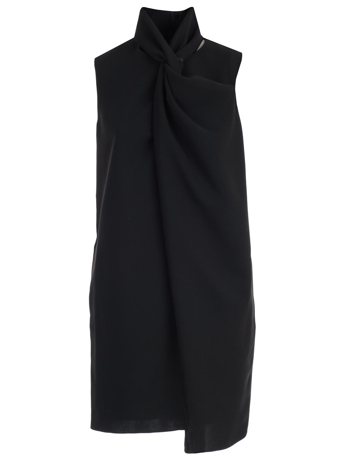 Photo of  Victoria Victoria Beckham Dress W & s Twist Front- shop Victoria Victoria Beckham  online sales