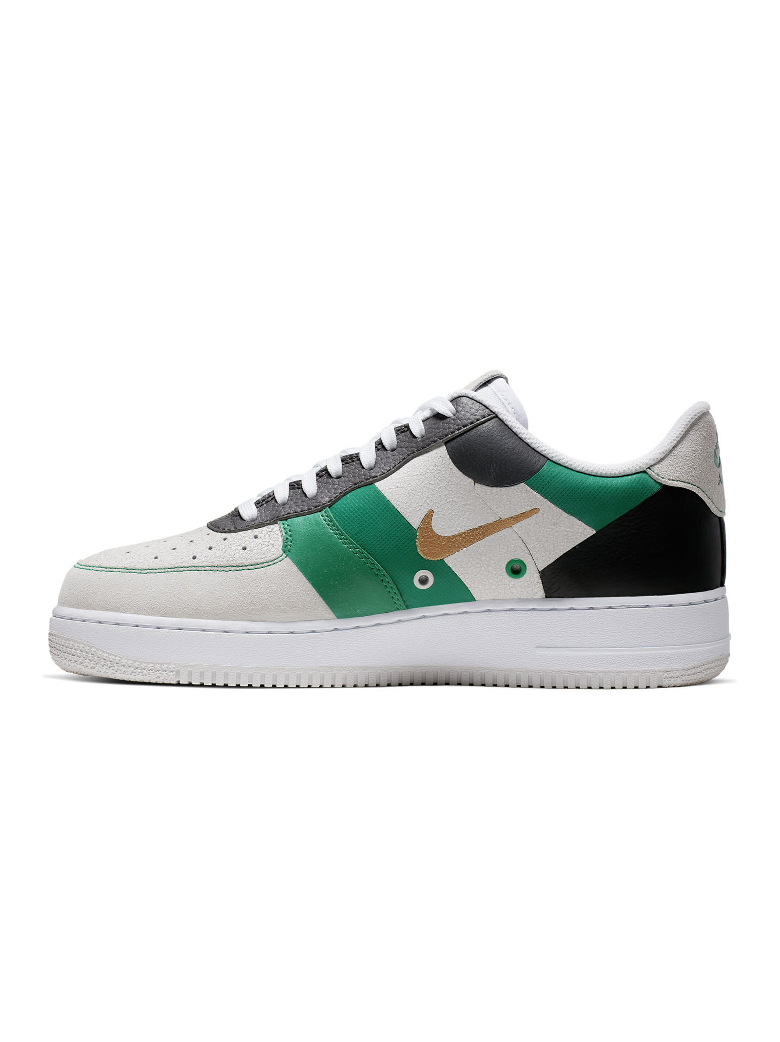 nike air force 1 bianco verde