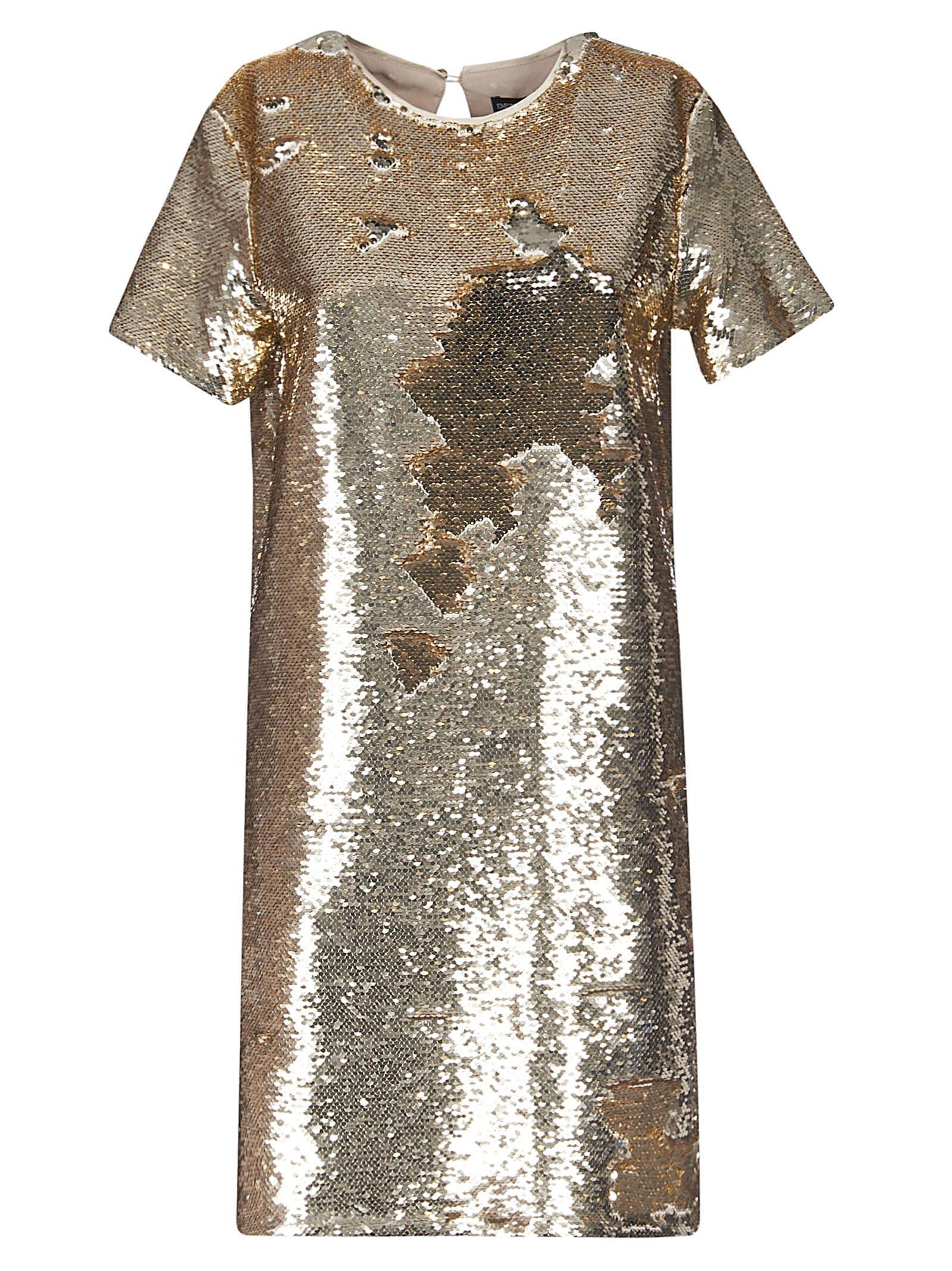 Buy Giorgio Armani Embellished Dress online, shop Giorgio Armani with free shipping
