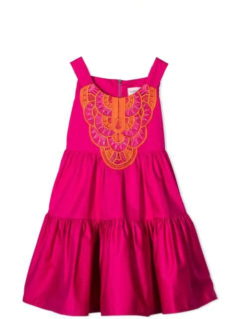 Alberta Ferretti Dress With Embroidery