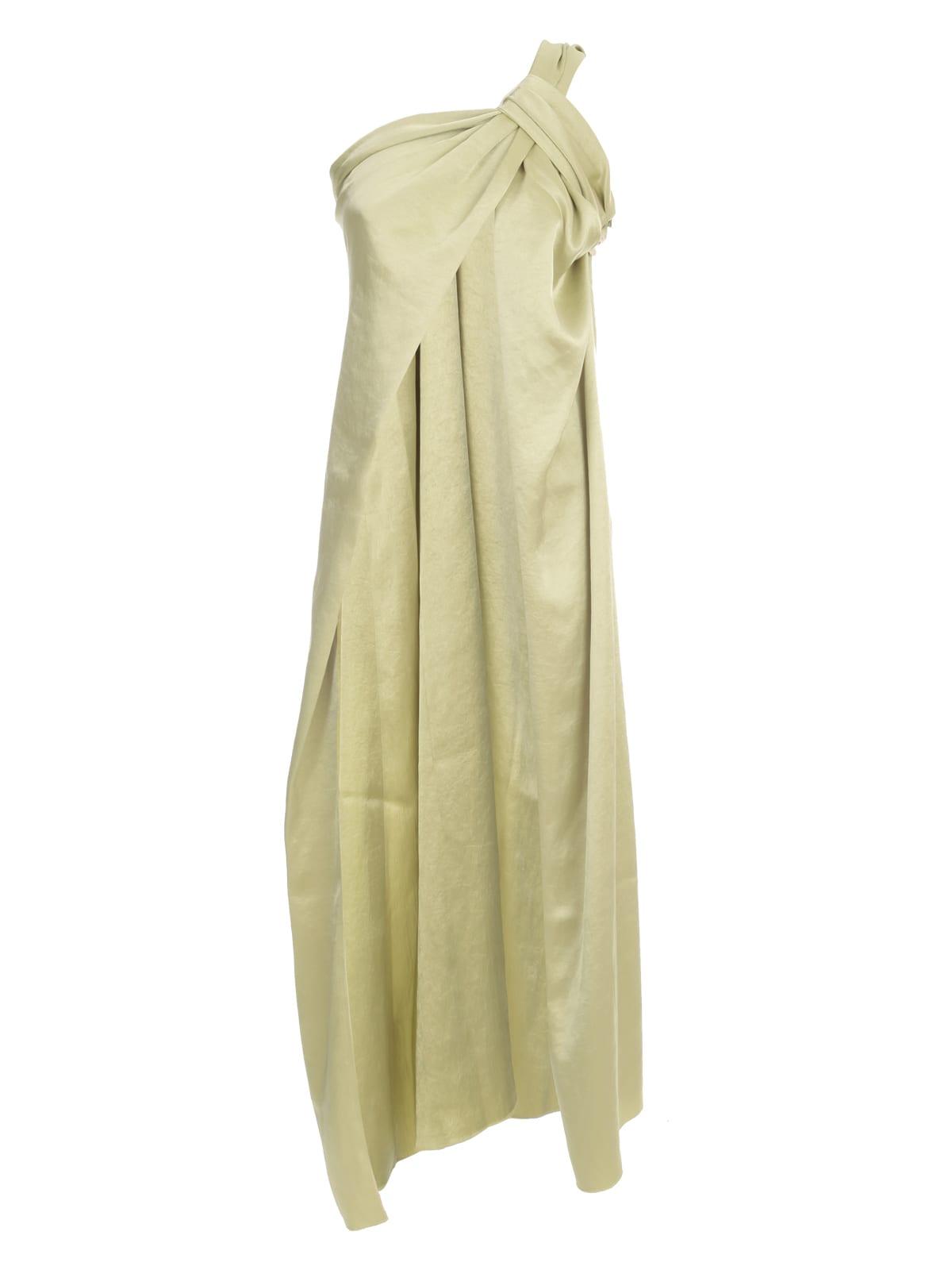 Buy Nanushka Maxi Dress Single Shoulder online, shop Nanushka with free shipping