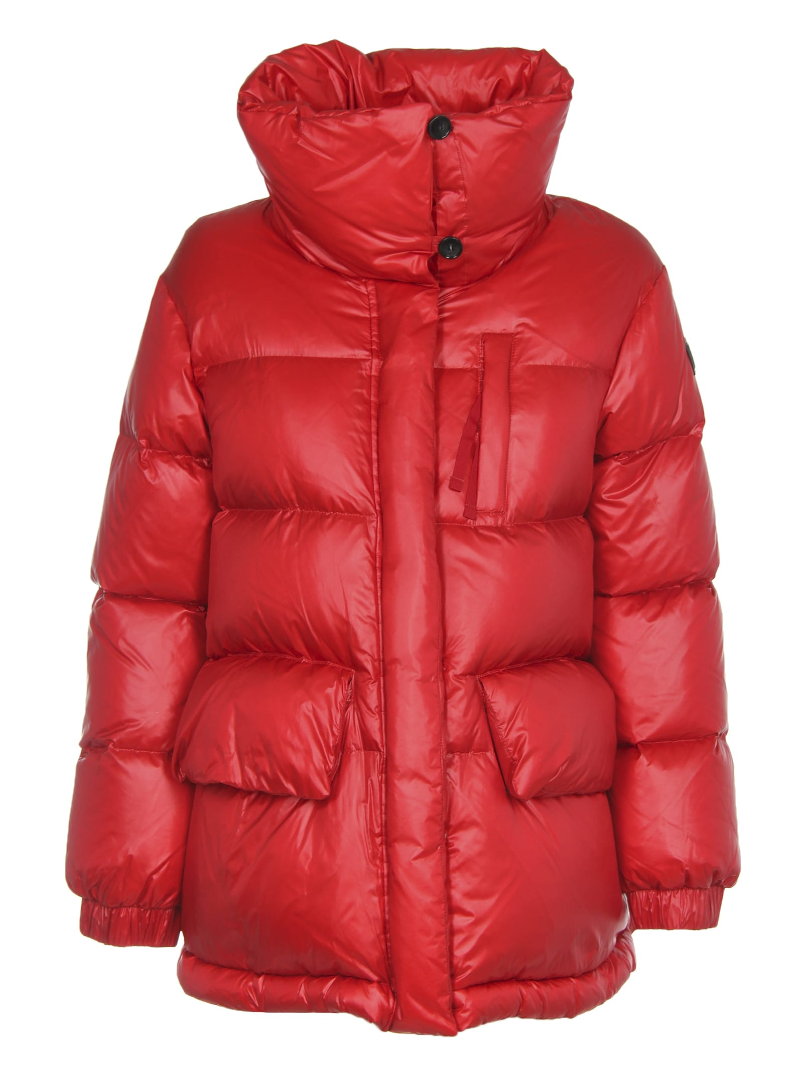 Woolrich Ws Alquippa Puffy Red Jacket