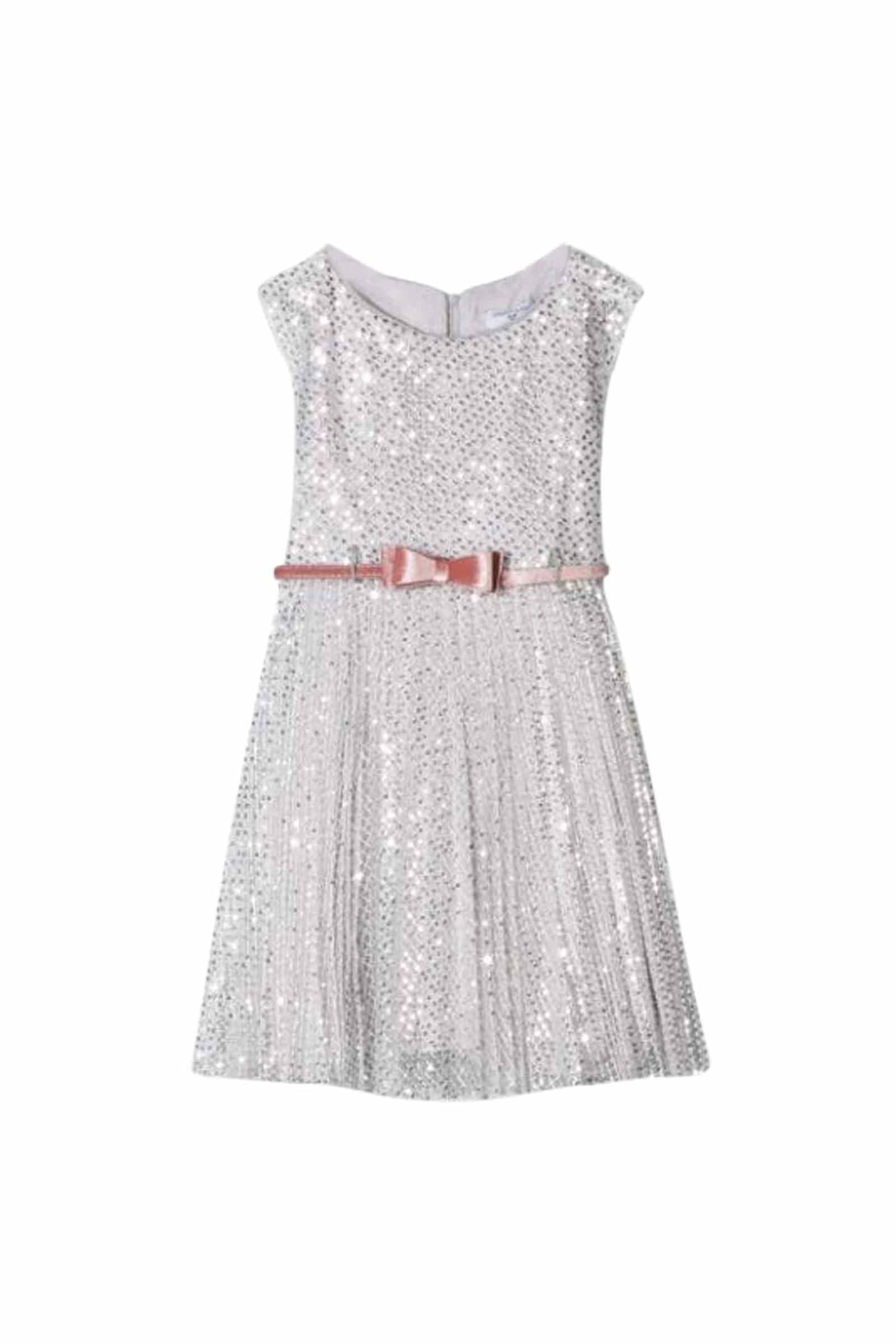 Monnalisa Sequins Dress