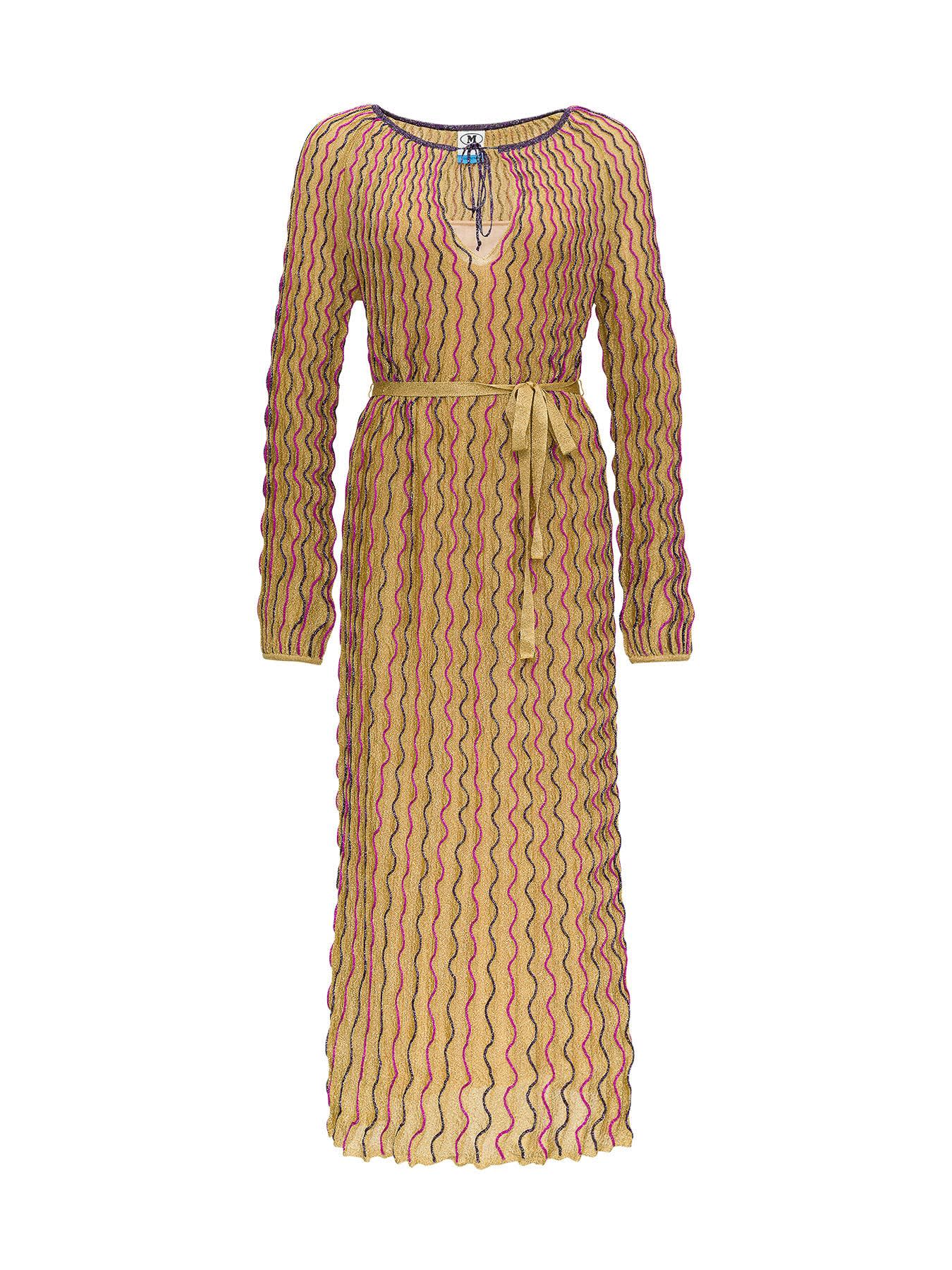 Buy Gold Dress online, shop M Missoni with free shipping