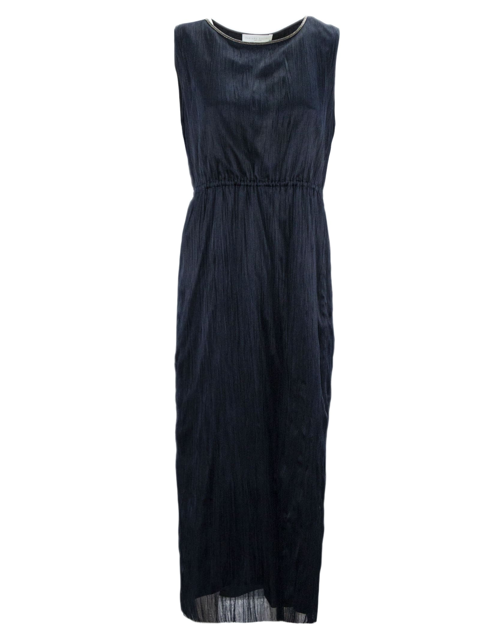 Fabiana Filippi Blue Fabric Dress