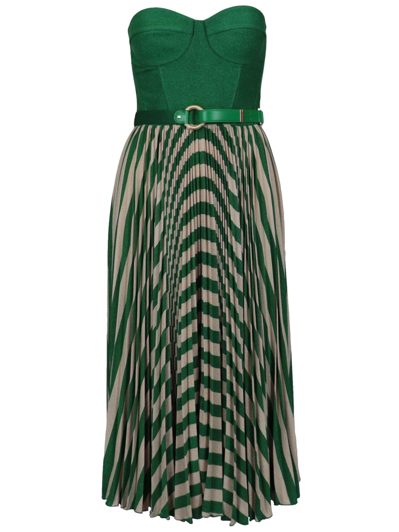 Buy Elisabetta Franchi Celyn B. Jersey Lamè Dress online, shop Elisabetta Franchi Celyn B. with free shipping