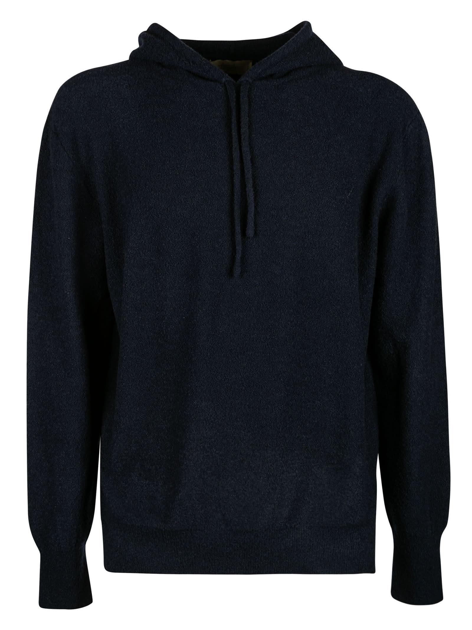 Plain Hooded Sweater