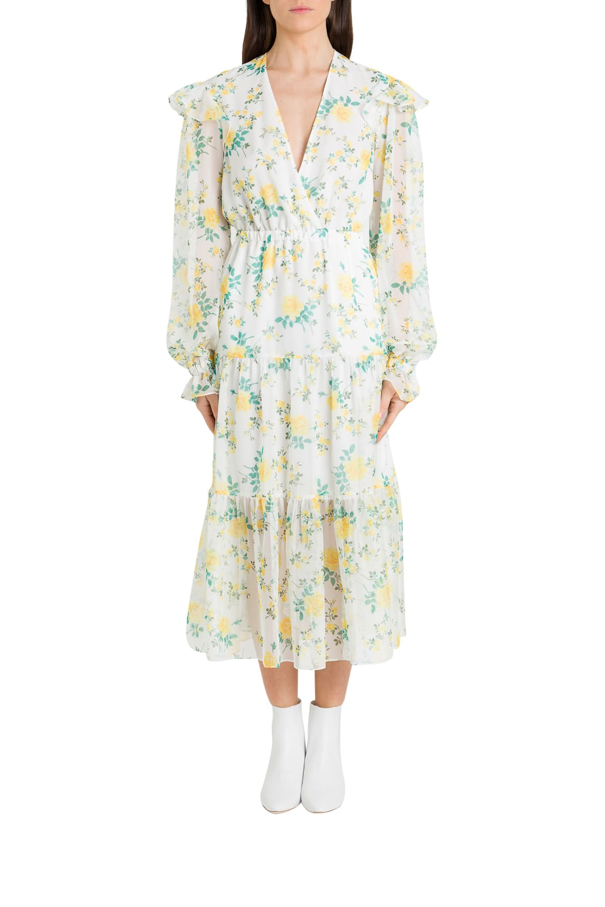 Buy Philosophy di Lorenzo Serafini Voile Floral Dress online, shop Philosophy di Lorenzo Serafini with free shipping