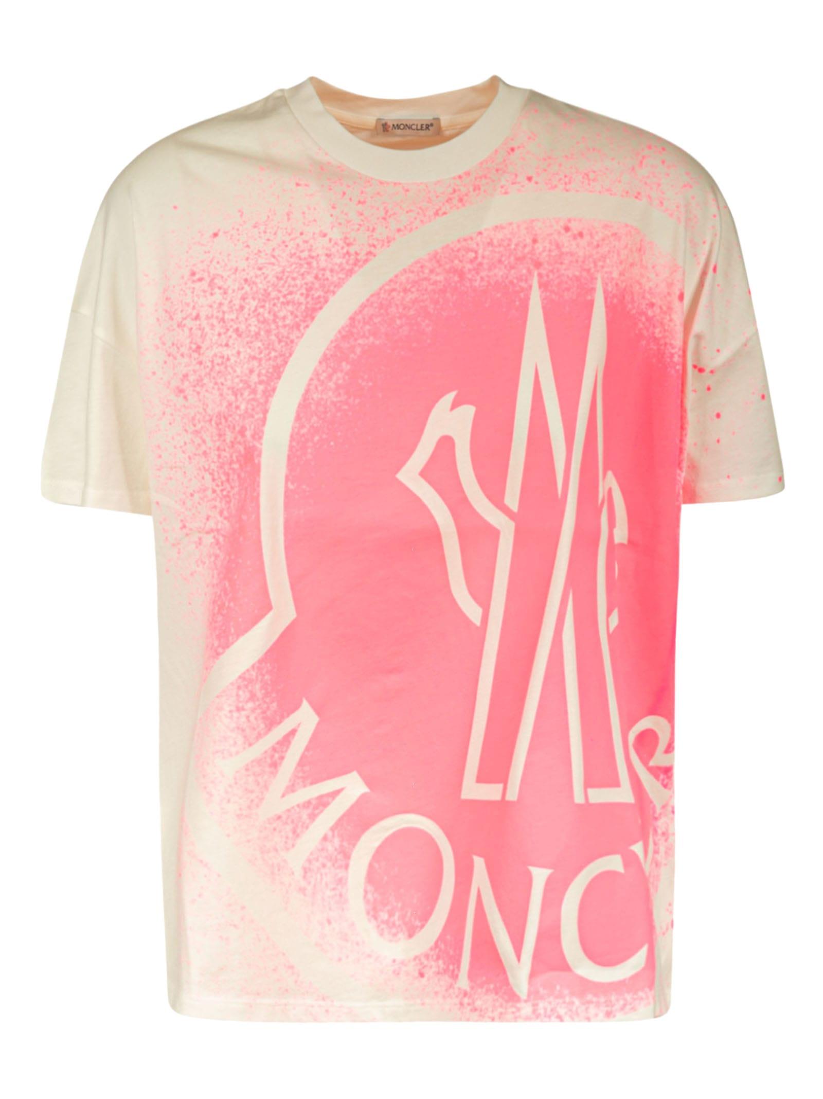 Moncler T-shirts LOGO PRINT T-SHIRT