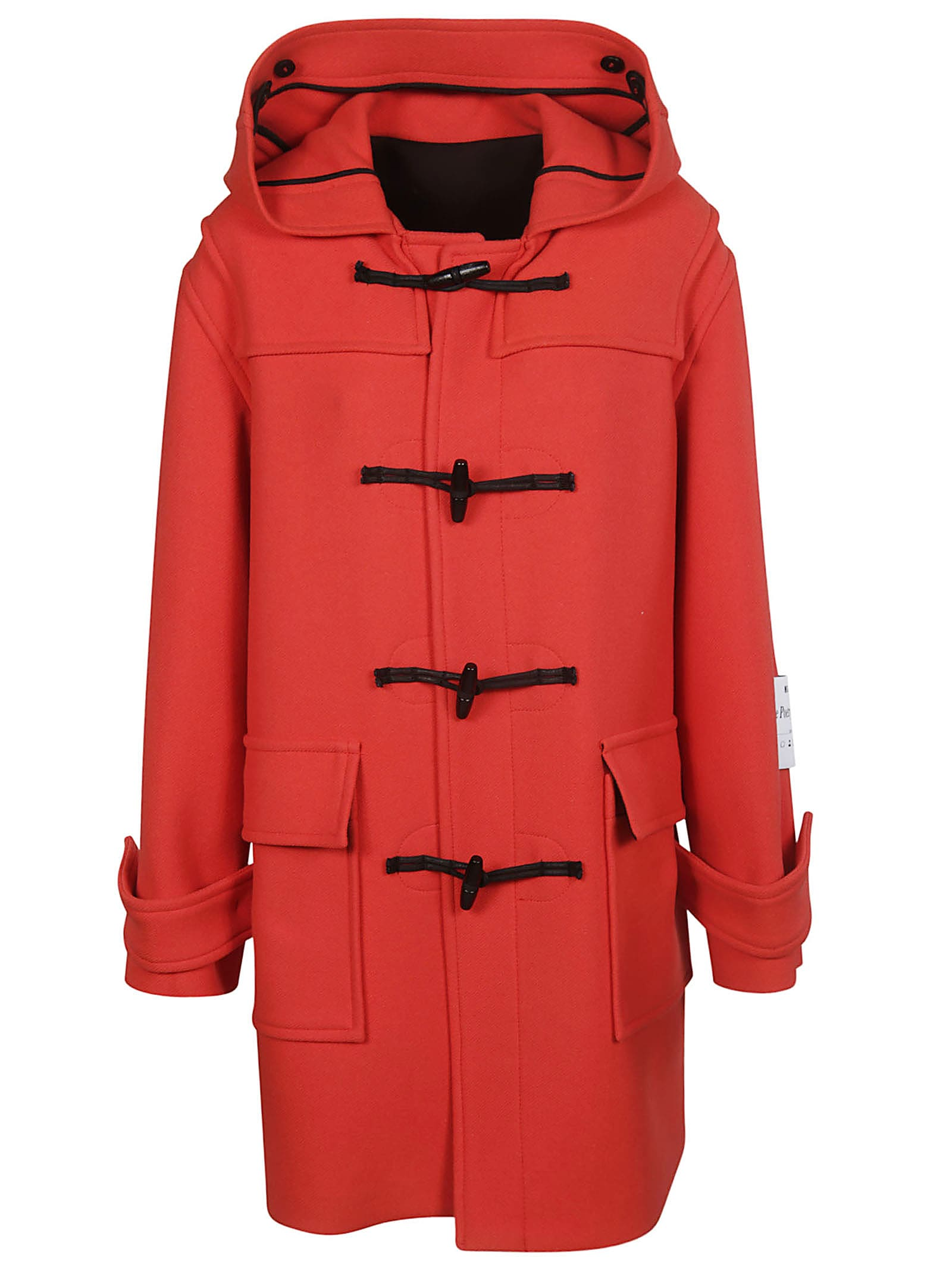 Photo of  MSGM Hooded Duffle Coat- shop MSGM jackets online sales