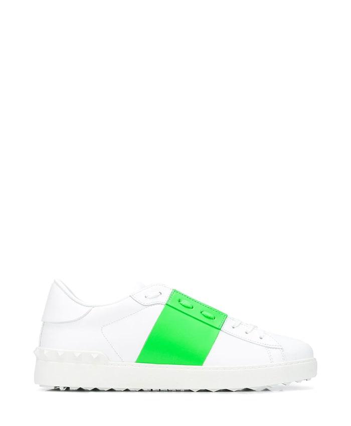 Valentino Garavani Open Fluo Band Sneakers