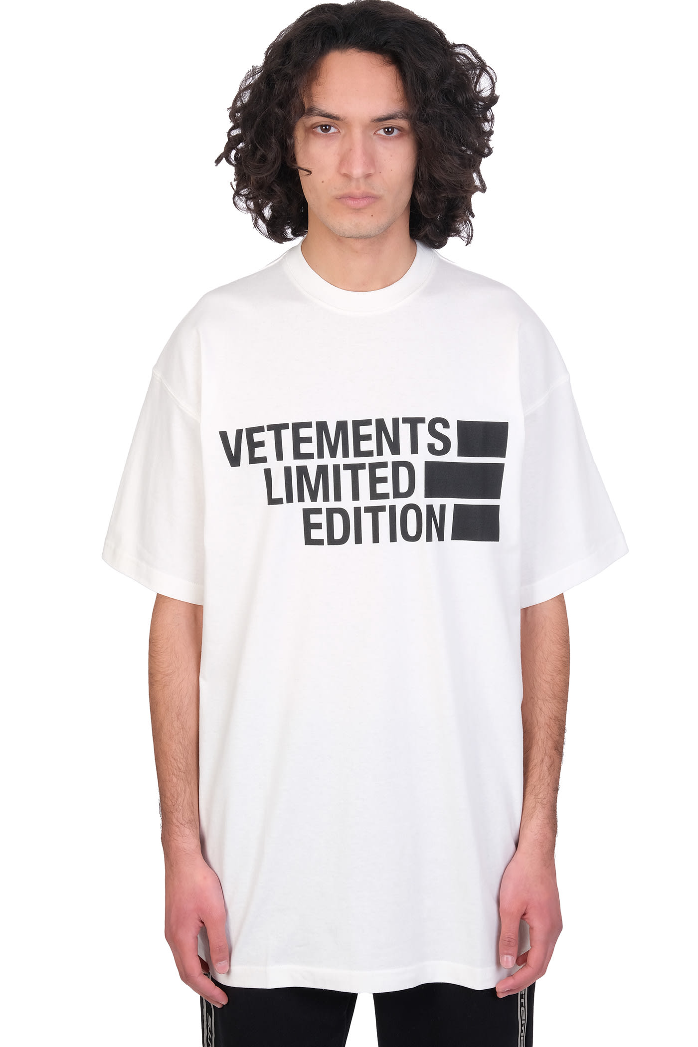 Vetements Cottons T-SHIRT IN WHITE COTTON