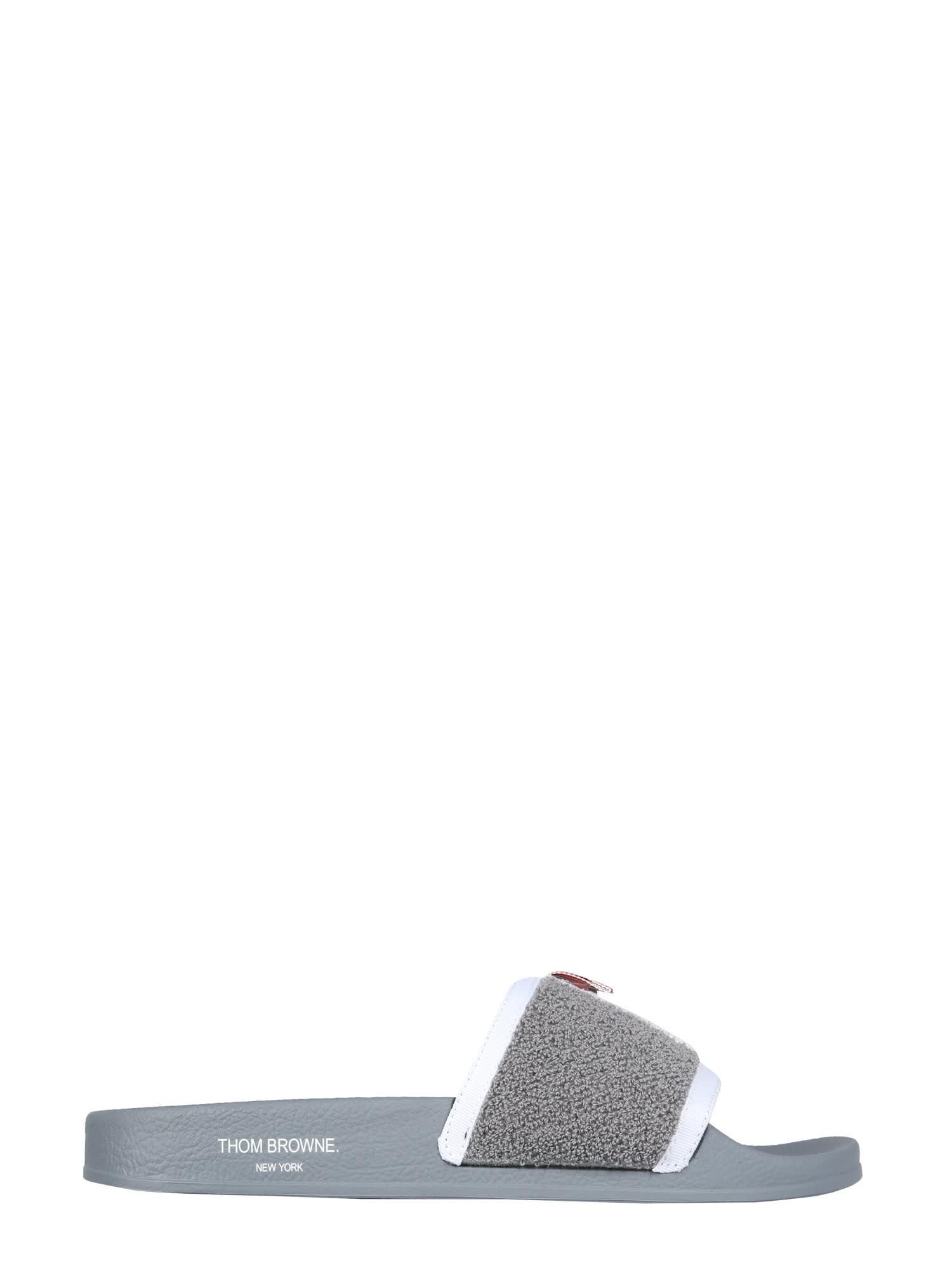 Thom Browne SPONGE SLIDE SANDALS