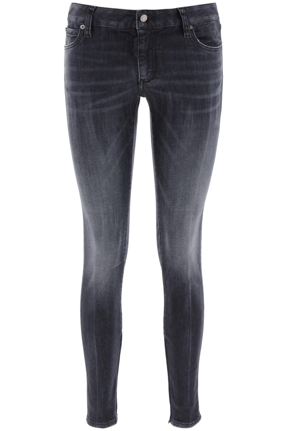 Dsquared2 Twiggy Medium Waist Jeans
