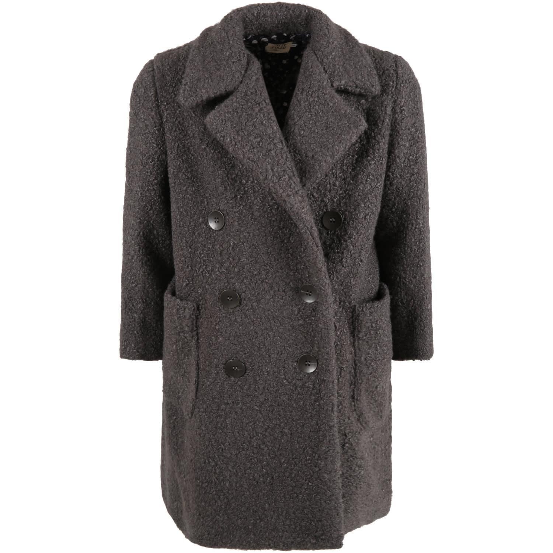 Caffe dOrzo Gray gioia Coat For Girl