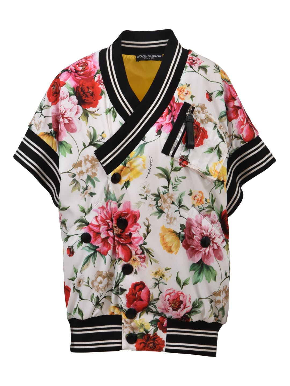 Dolce & Gabbana Floral Bomber