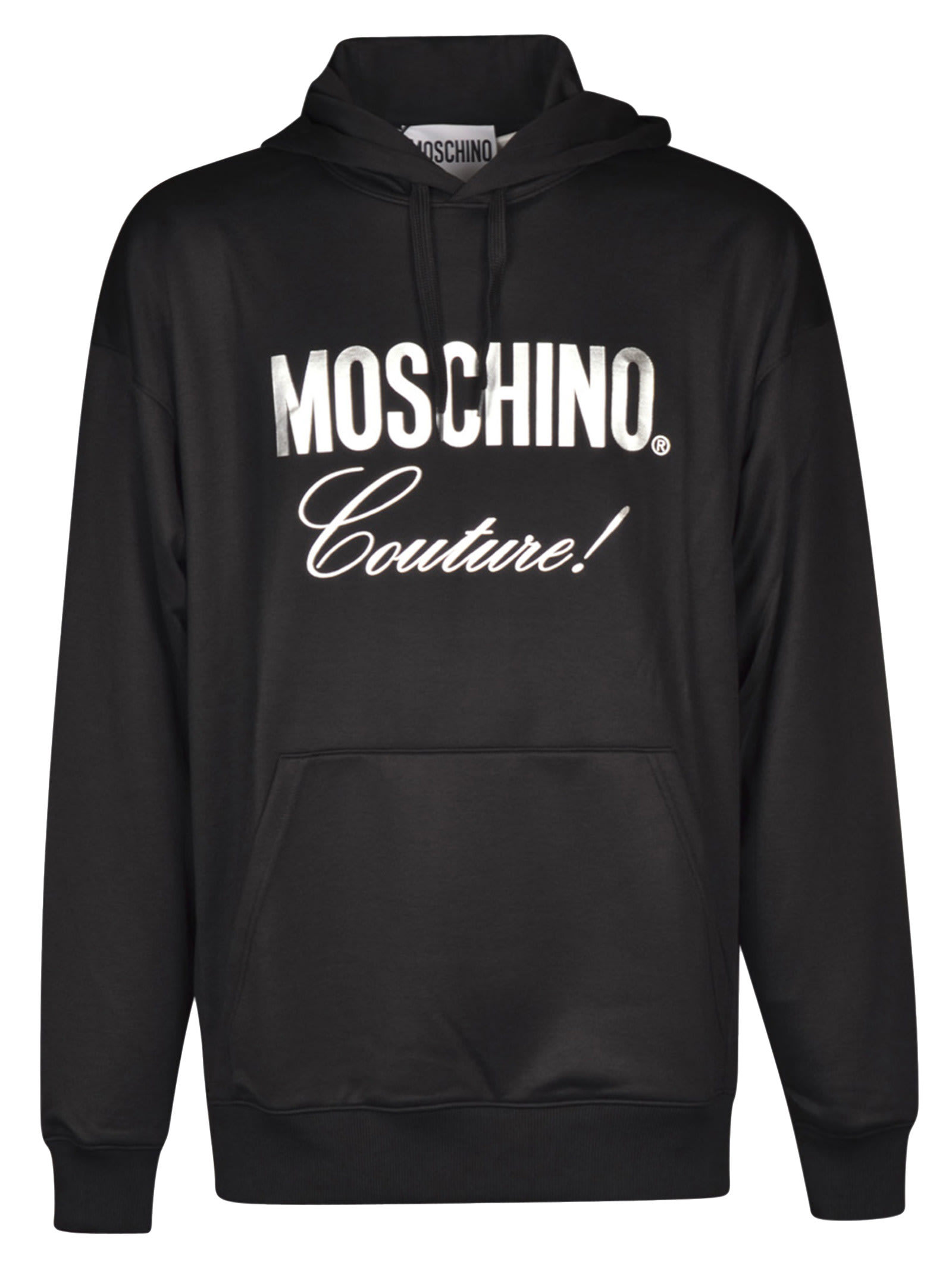 Moschino Couture Printed Hoodie