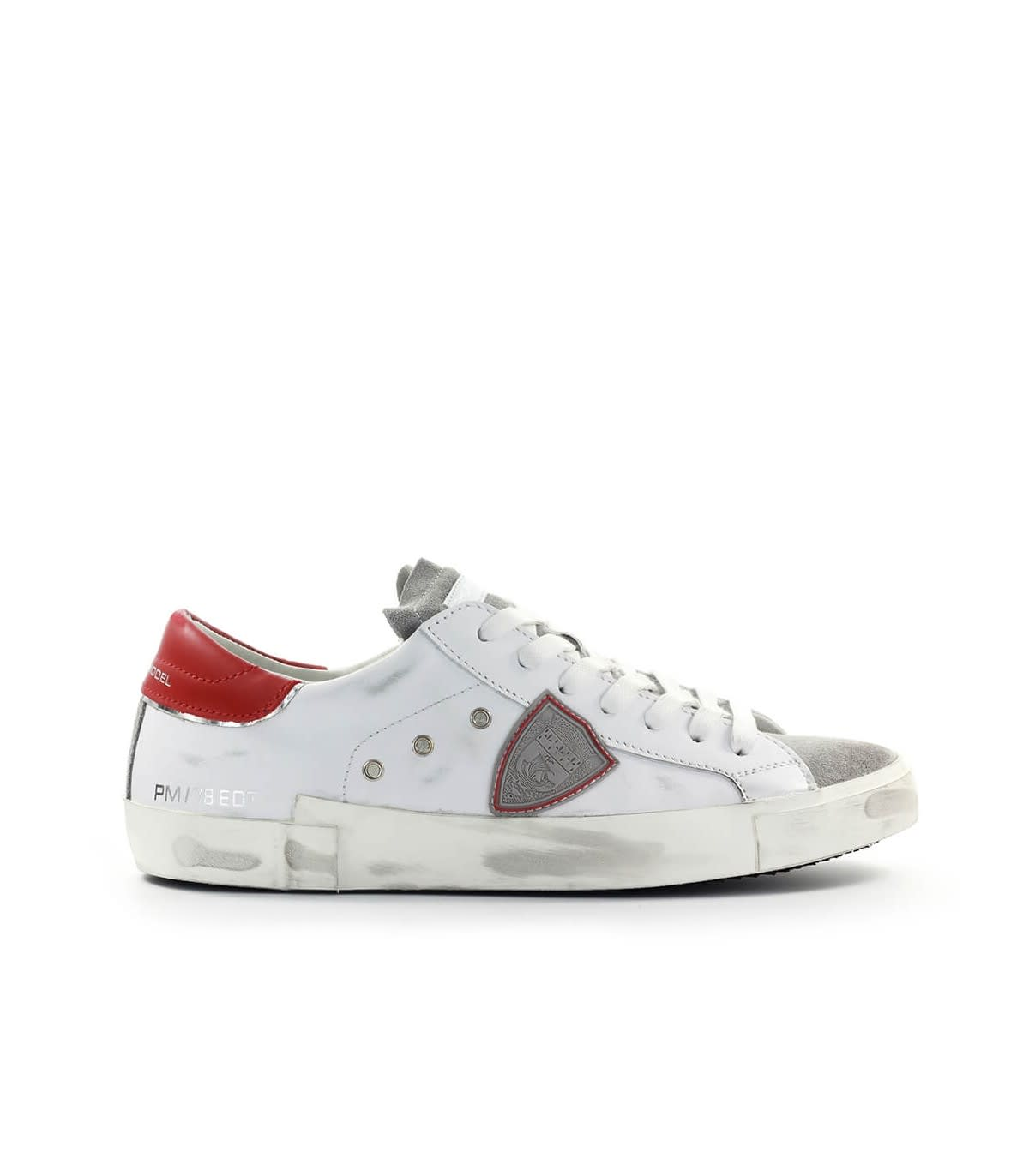 Philippe Model Prsx White Red Sneaker