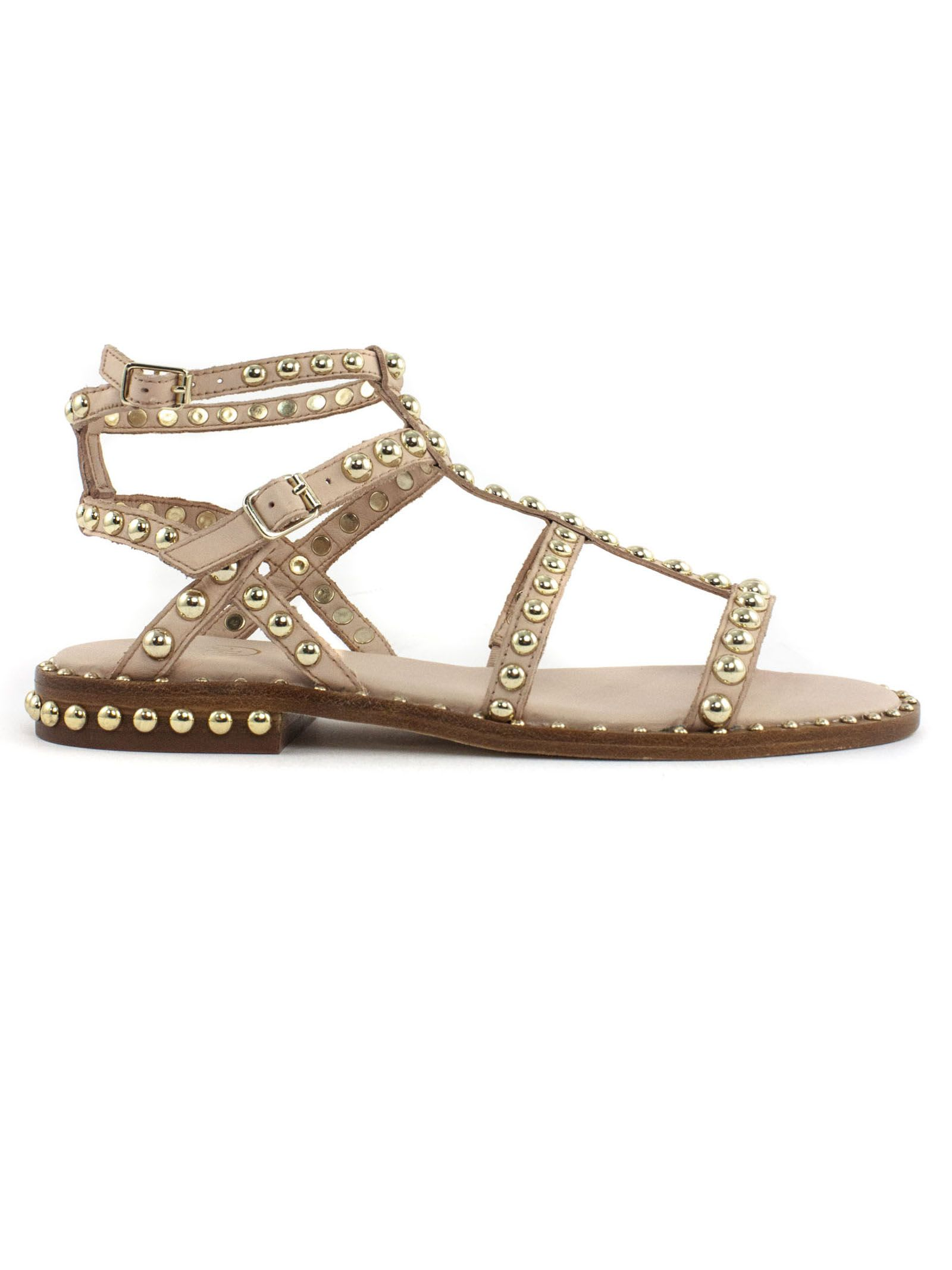 Ash Leathers PRECIOUS PINK LEATHER SANDAL
