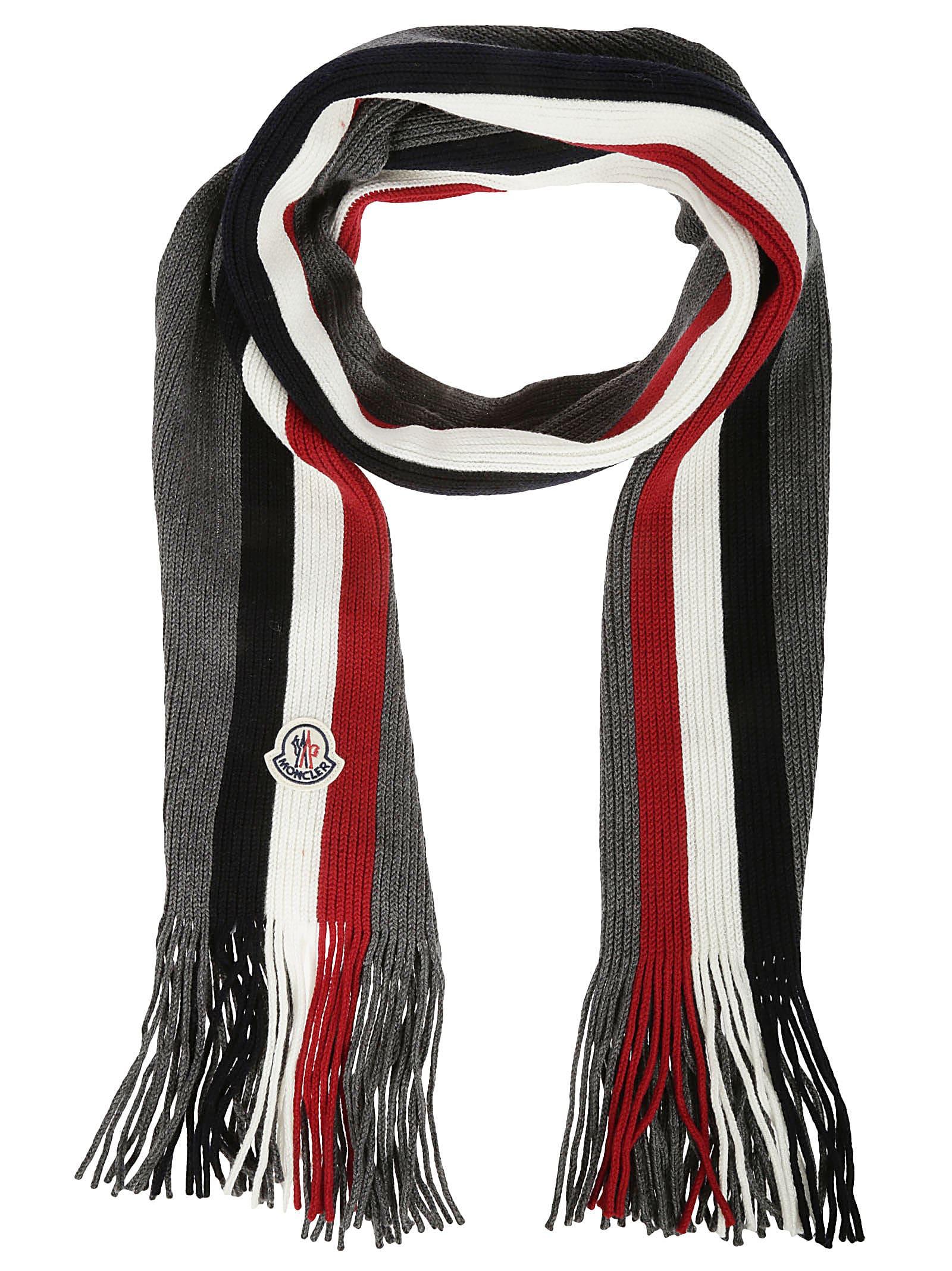 Moncler Rib Knit Scarf